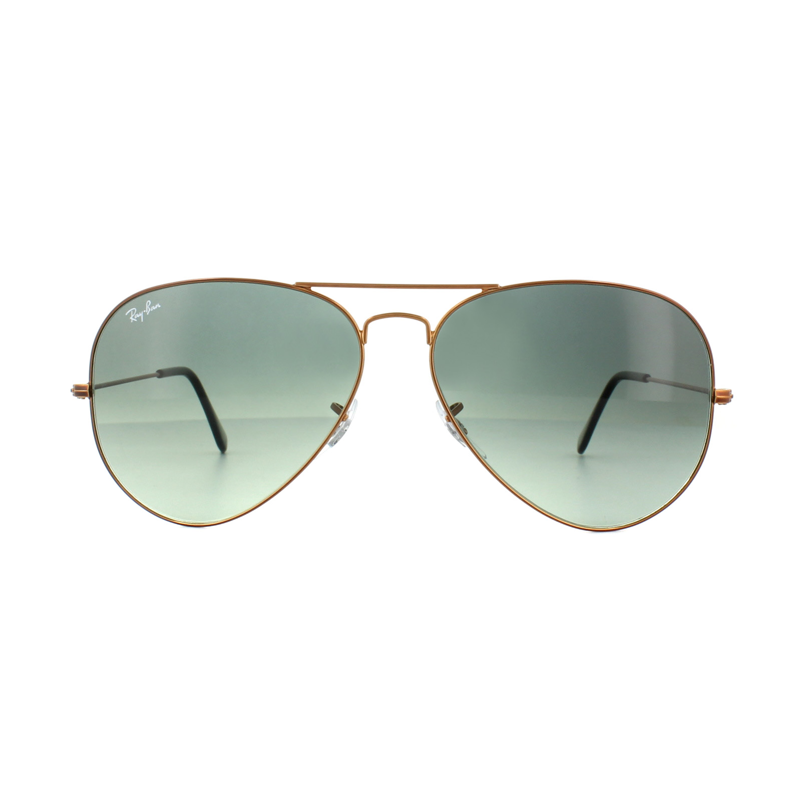 cec7ee80e37 Sentinel Ray-Ban Sunglasses Large Aviator 3026 197 71 Bronze Copper Grey  Gradient