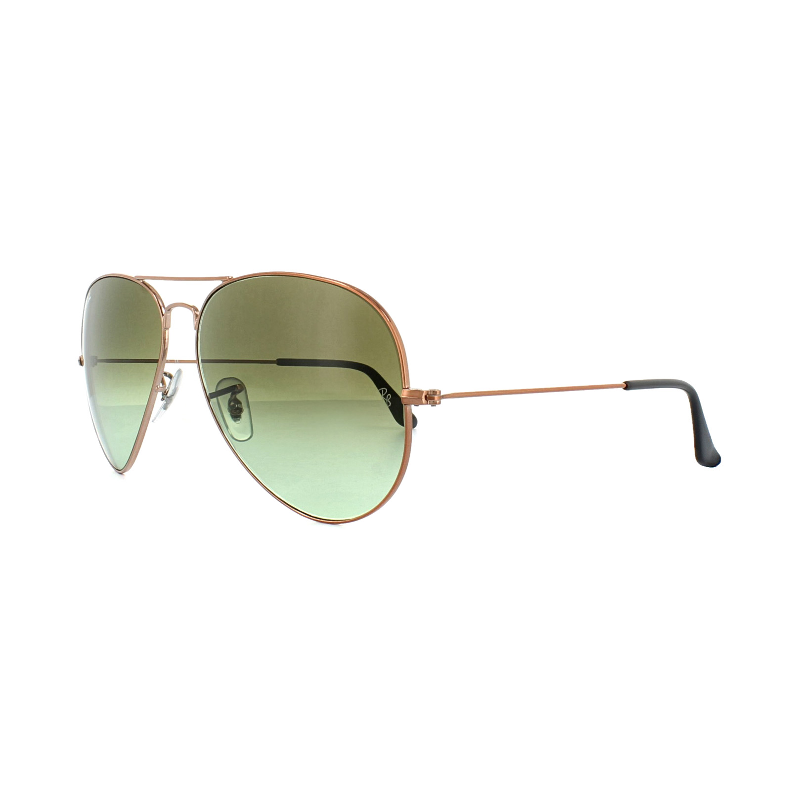 Sentinel Ray-Ban Sunglasses Large Aviator 3026 9002A6 Bronze Copper Green  Gradient. Sentinel Thumbnail 2 27460d70b3