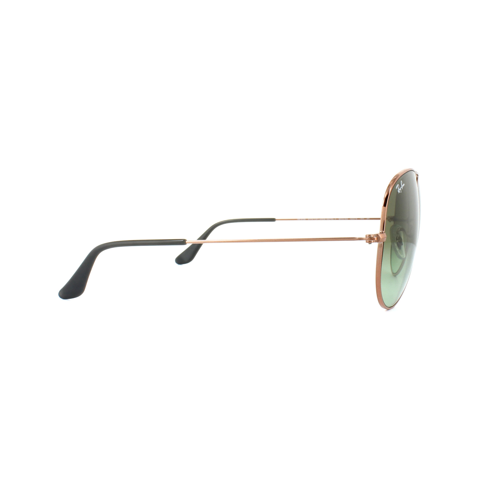 Sentinel Ray-Ban Sunglasses Large Aviator 3026 9002A6 Bronze Copper Green  Gradient d960ac43f1