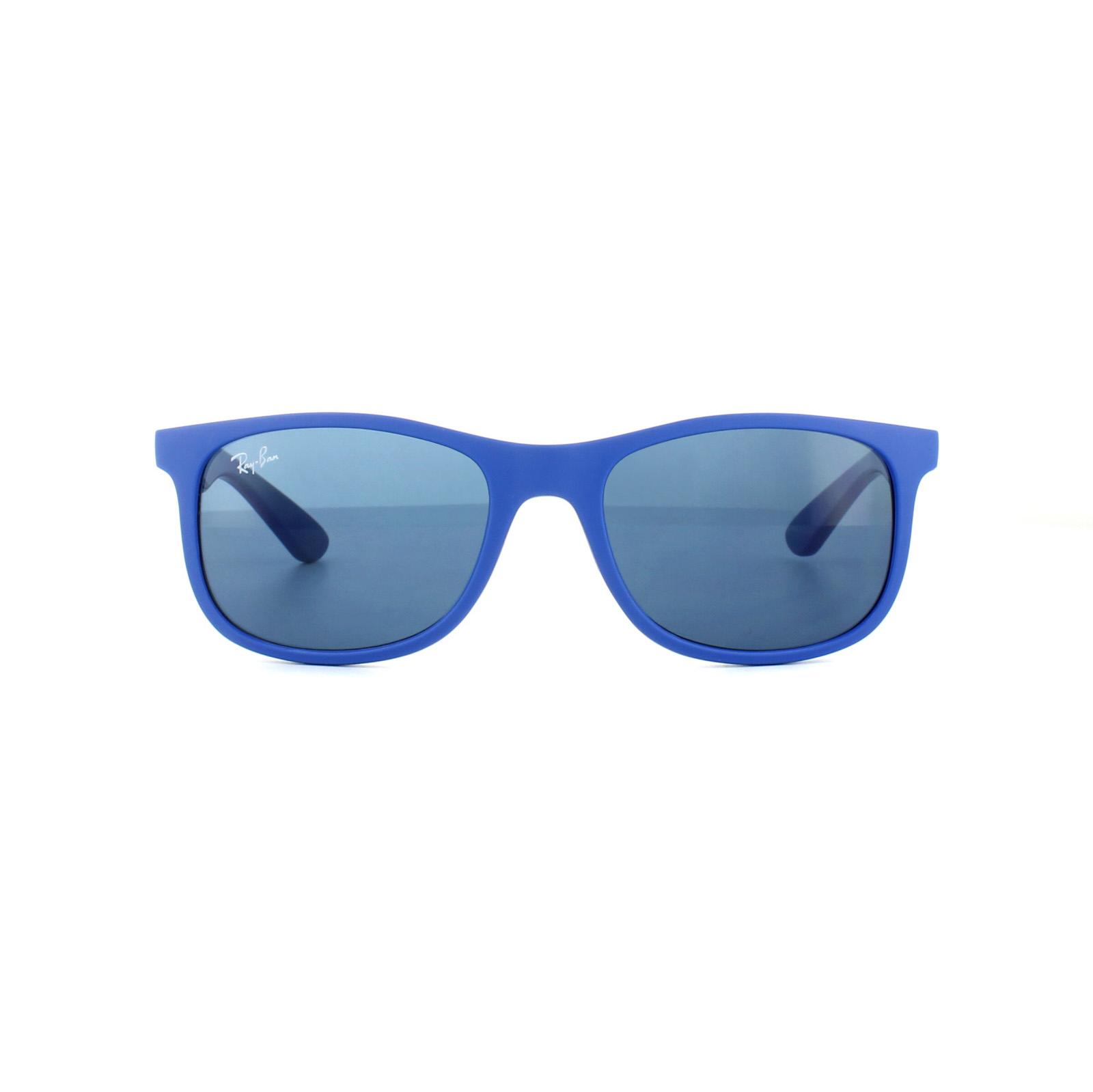 4ff7de6b79c Ray-Ban Junior Sunglasses 9062 701780 Blue Blue 8053672474664