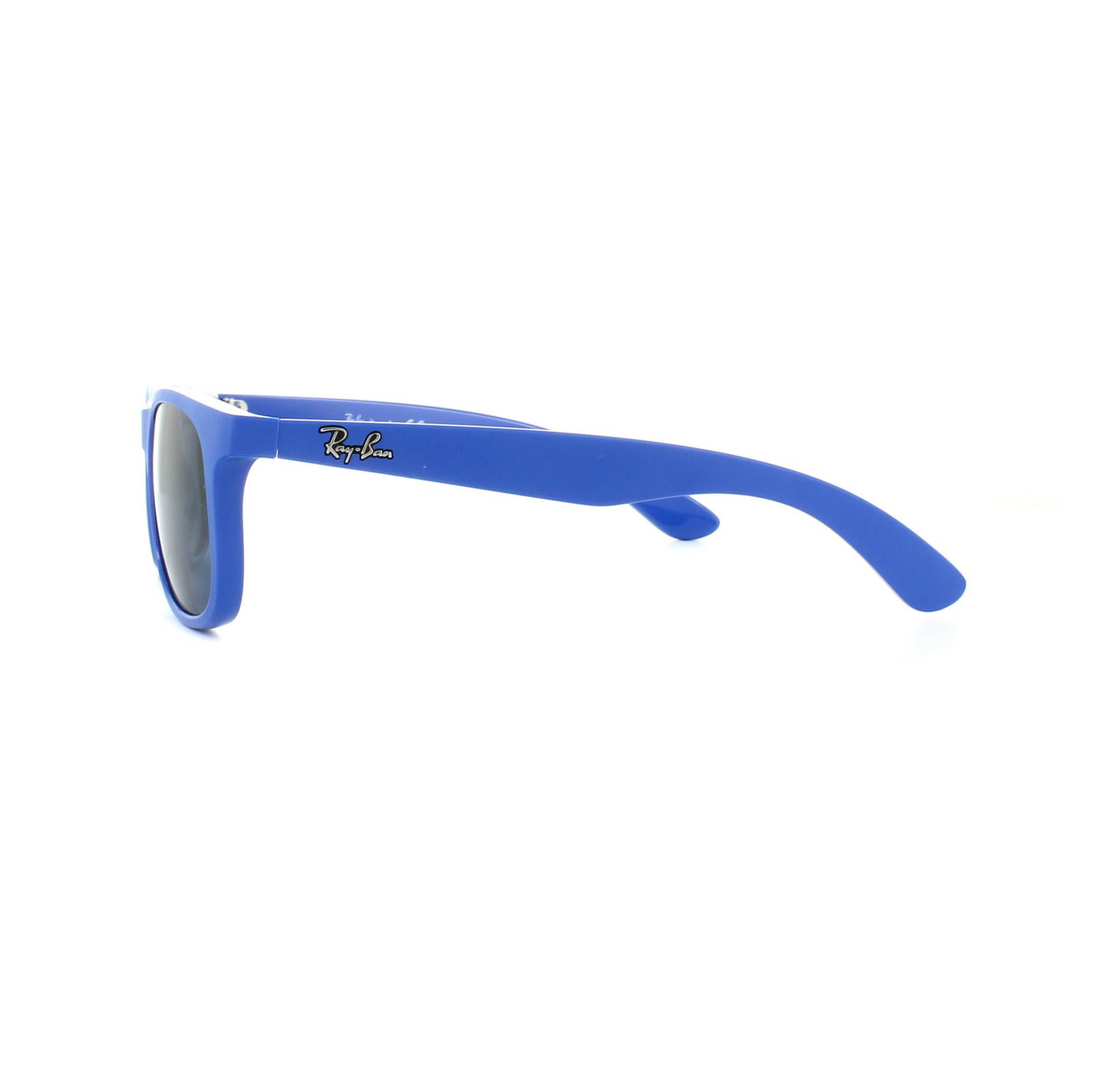 ray ban junior sonnenbrille 9062 701780 blau blau ebay. Black Bedroom Furniture Sets. Home Design Ideas
