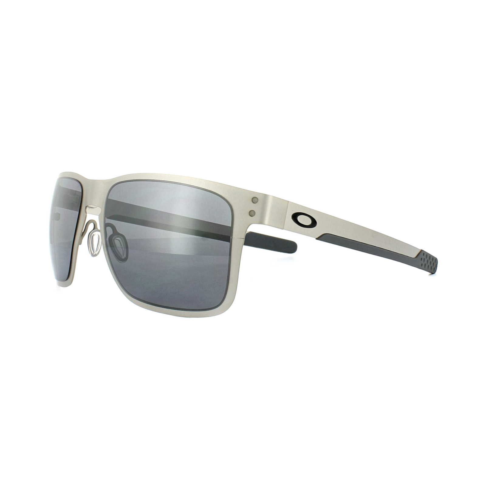 c4d71e31d94 Sentinel Oakley Sunglasses Holbrook Metal OO4123-03 Satin Chrome Black  Iridium