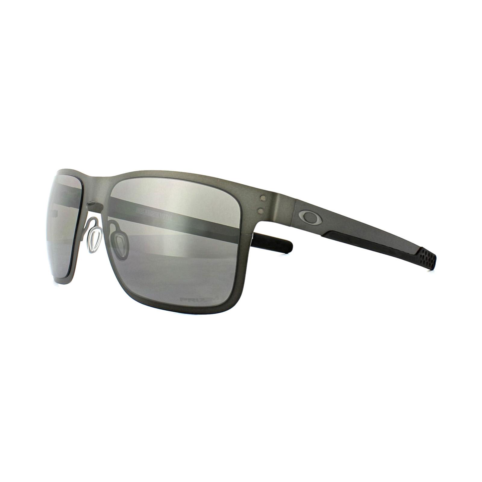 Sentinel Oakley Sunglasses Holbrook Metal OO4123-06 Matt Gunmetal Prizm  Black Polarized 0944c4db369
