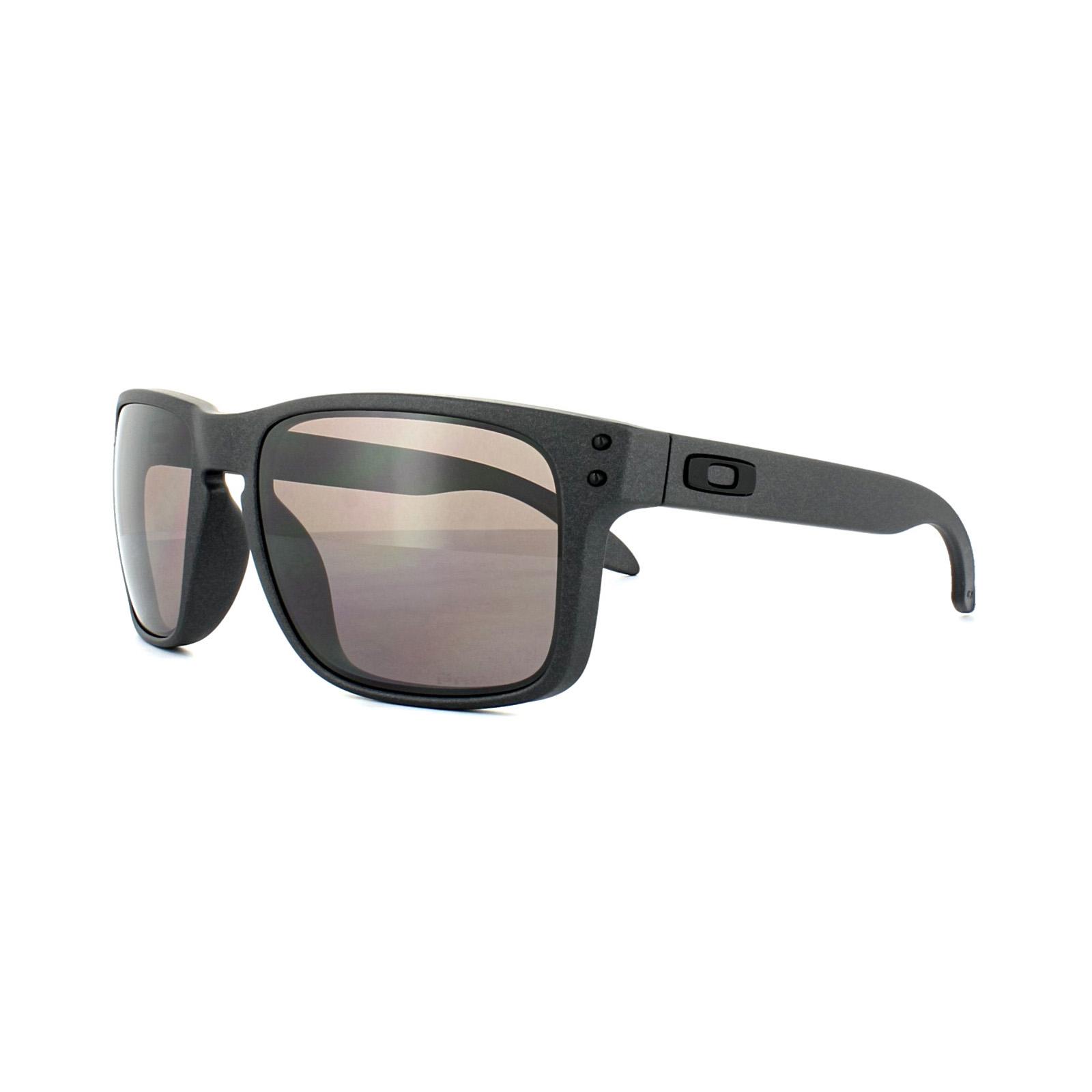 f17fedf6e7f Sentinel Oakley Sunglasses Holbrook OO9102-B5 Steel Prizm Daily Polarized
