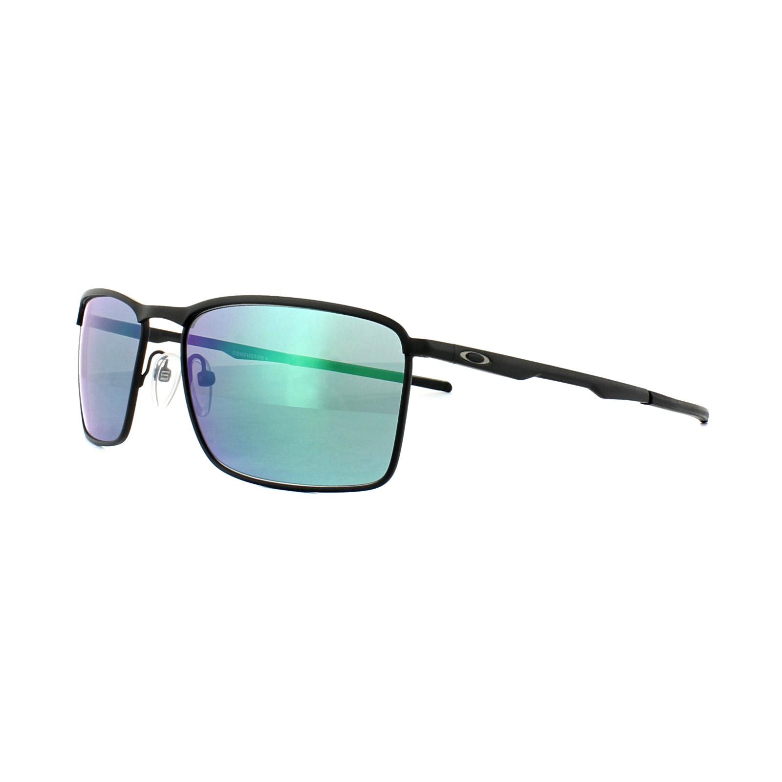 Oakley Thinlink Matte Black Jade Iridium Schwarz/Grün 5n84VaW