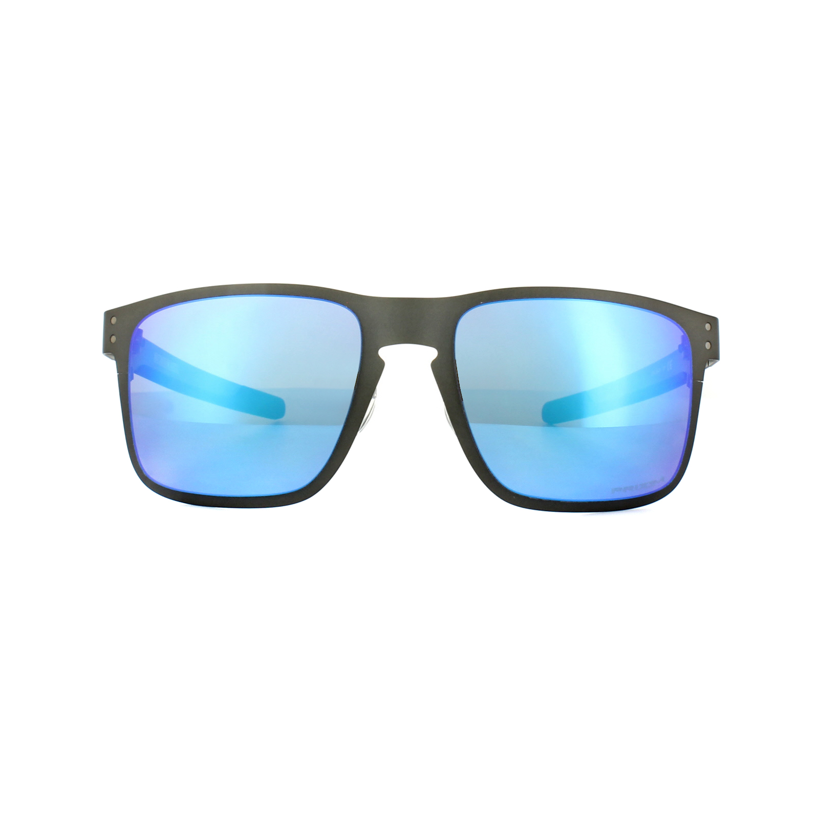 6ed47f52f9 Sentinel Oakley Sunglasses Holbrook Metal OO4123-07 Gunmetal Prizm Sapphire  Polarized