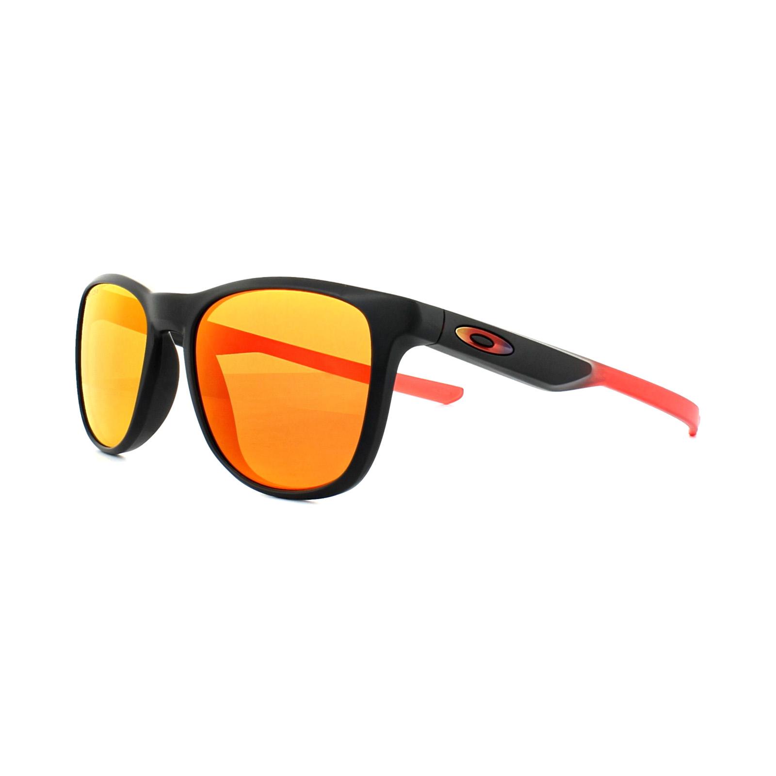 Oakley Trillbe X Prizm Sonnenbrille Schwarz/Matt NrwStoR