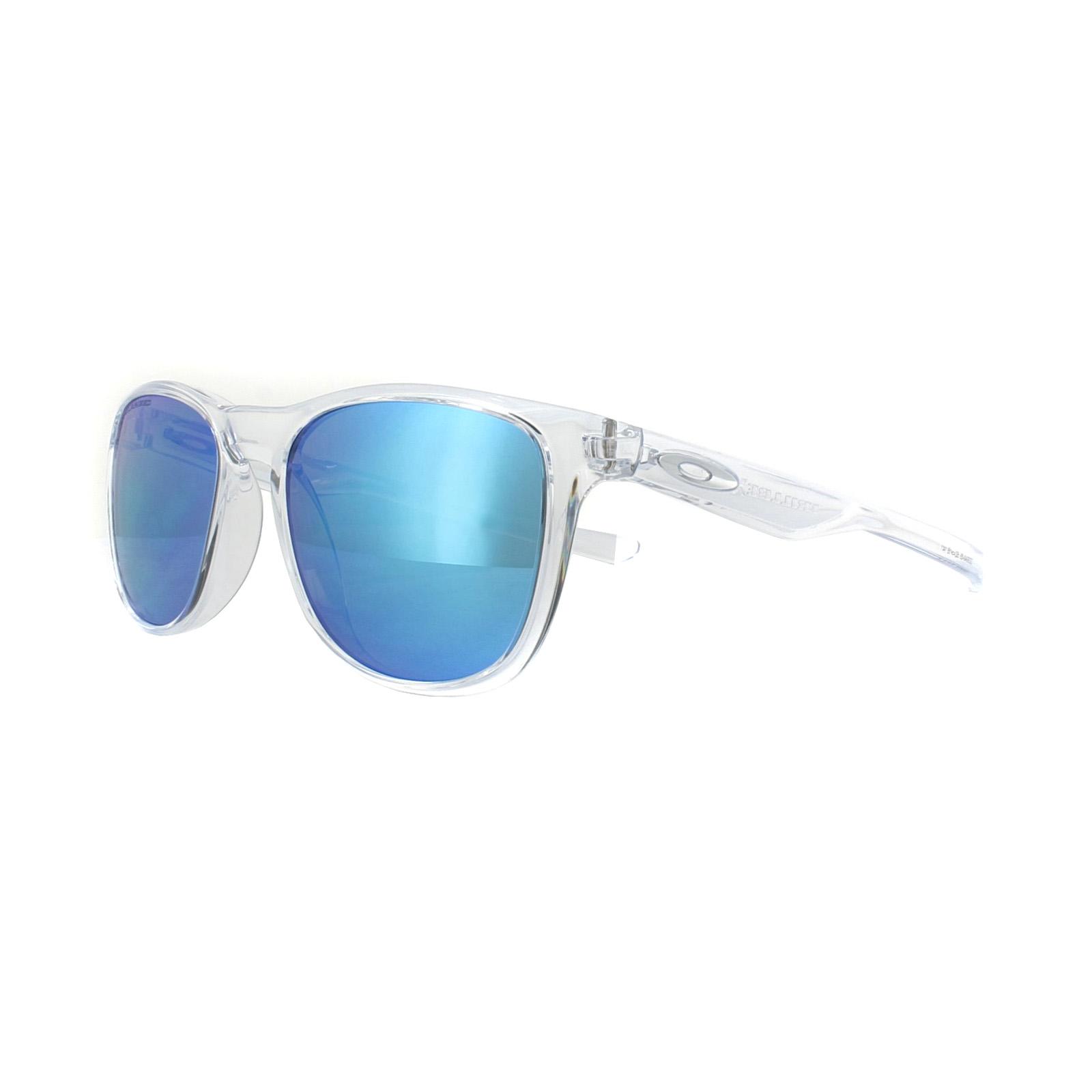 Oakley Gafas de sol trillbe x oo9340-05 Pulido Claro ZAFIRO Iridio ...