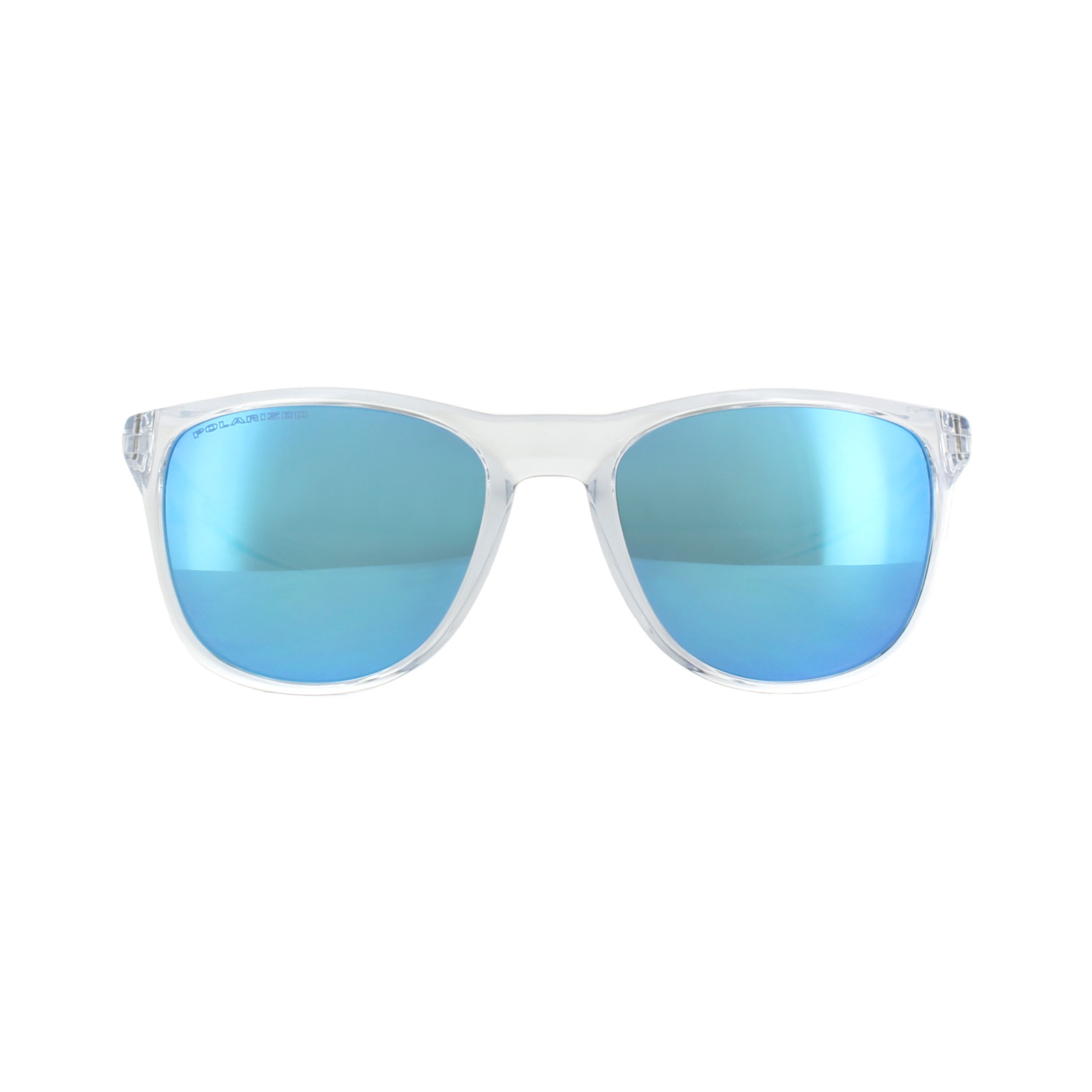 0d4db19519 Sentinel Oakley Sunglasses Trillbe X OO9340-05 Polished Clear Sapphire  Iridium Polarized
