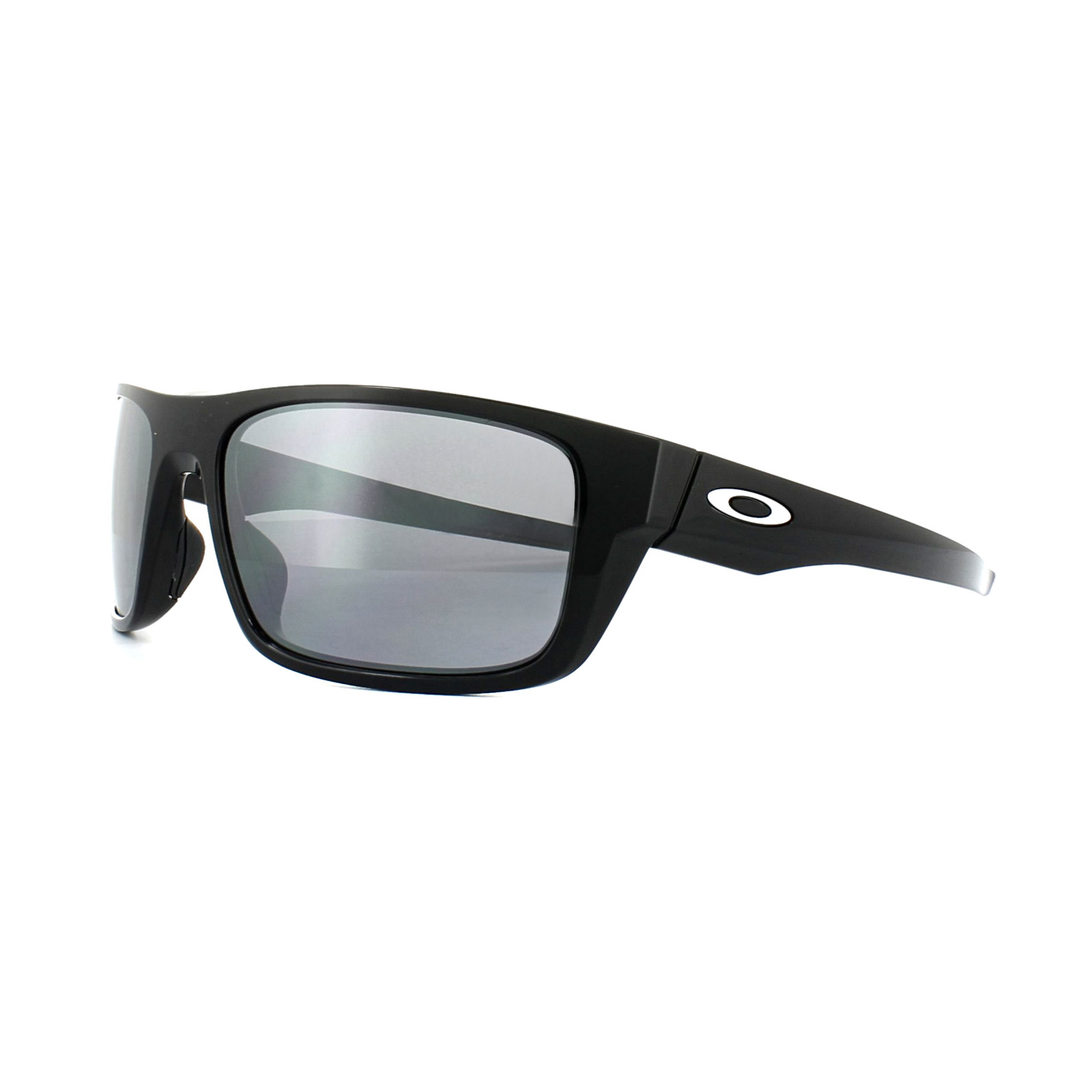 Oakley Drop In Sonnenbrille Polished Black/Black Iridium WiDwEl