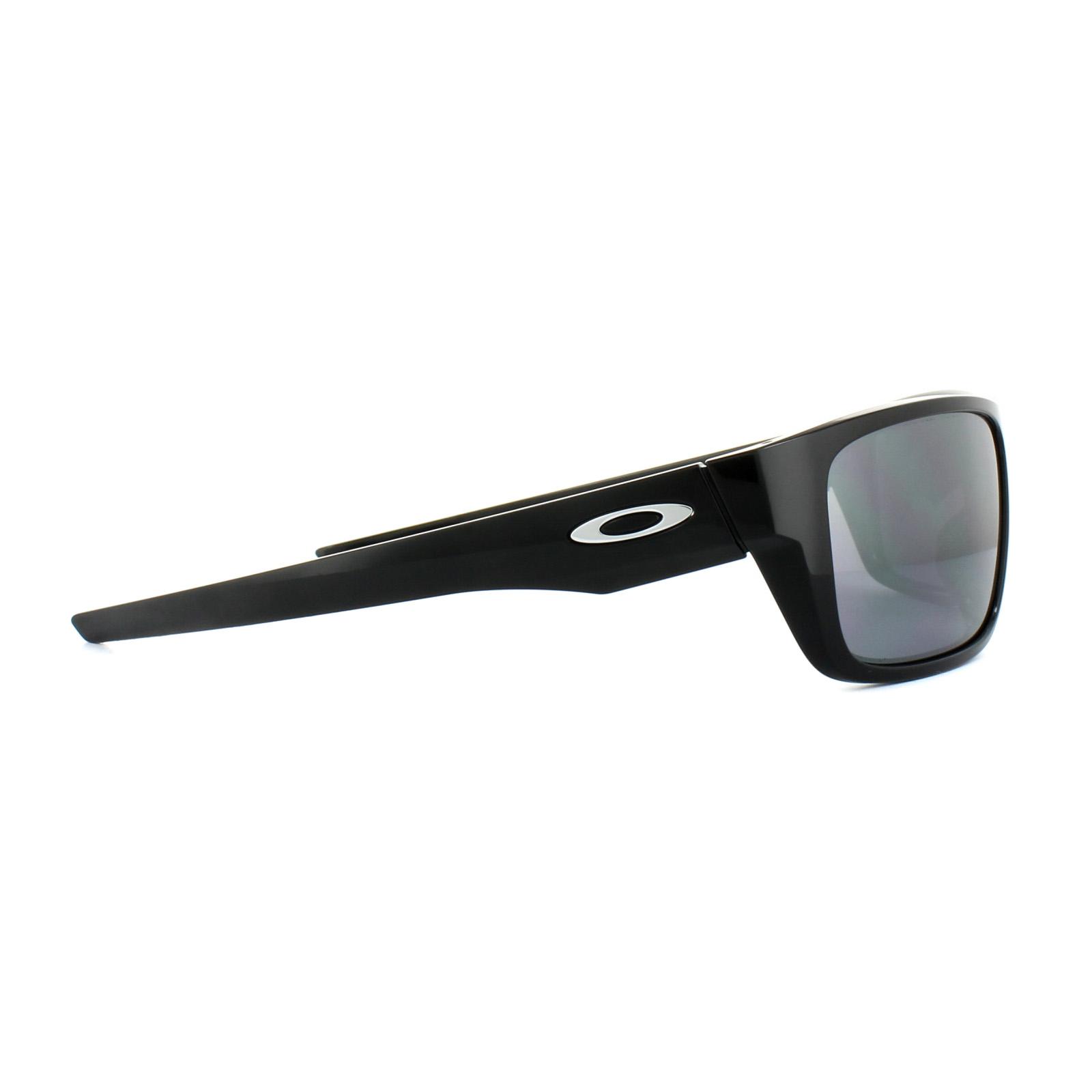 cccb68212f Sentinel Oakley Sunglasses Drop Point OO9367-02 Polished Black Black Iridium