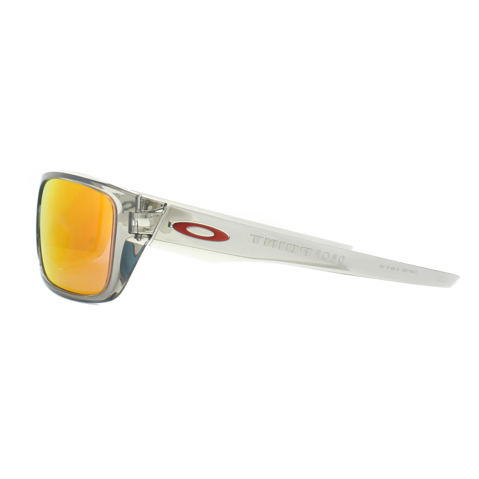 30938d1eb3 Sentinel Oakley Sunglasses Drop Point OO9367-03 Grey Ink Ruby Iridium