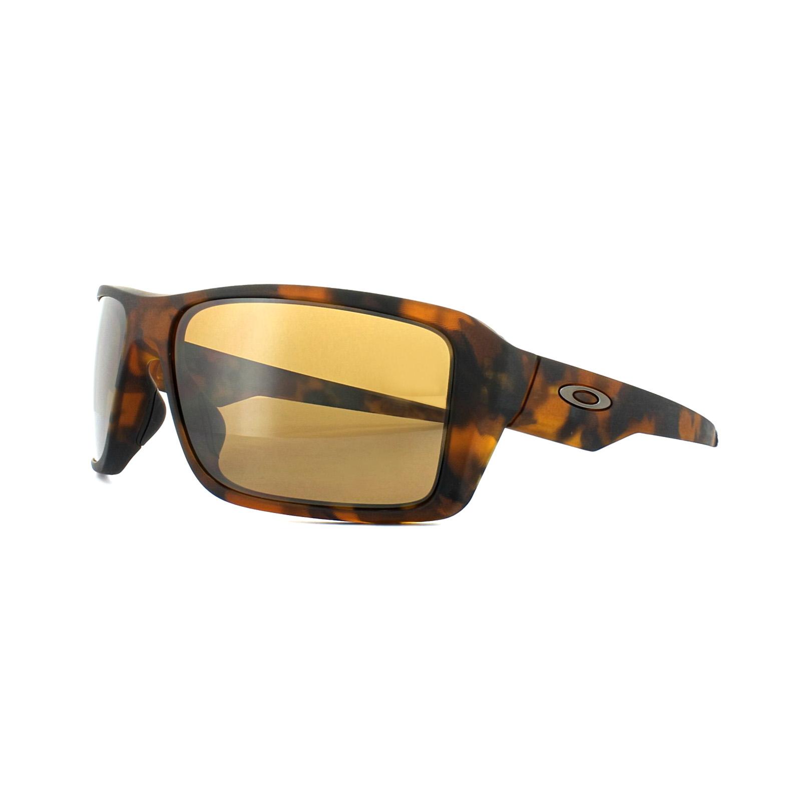 Oakley Double Edge Matte Tortoise/Prizm Tungsten Polarized 2018 Sonnenbrillen CK4oMTe