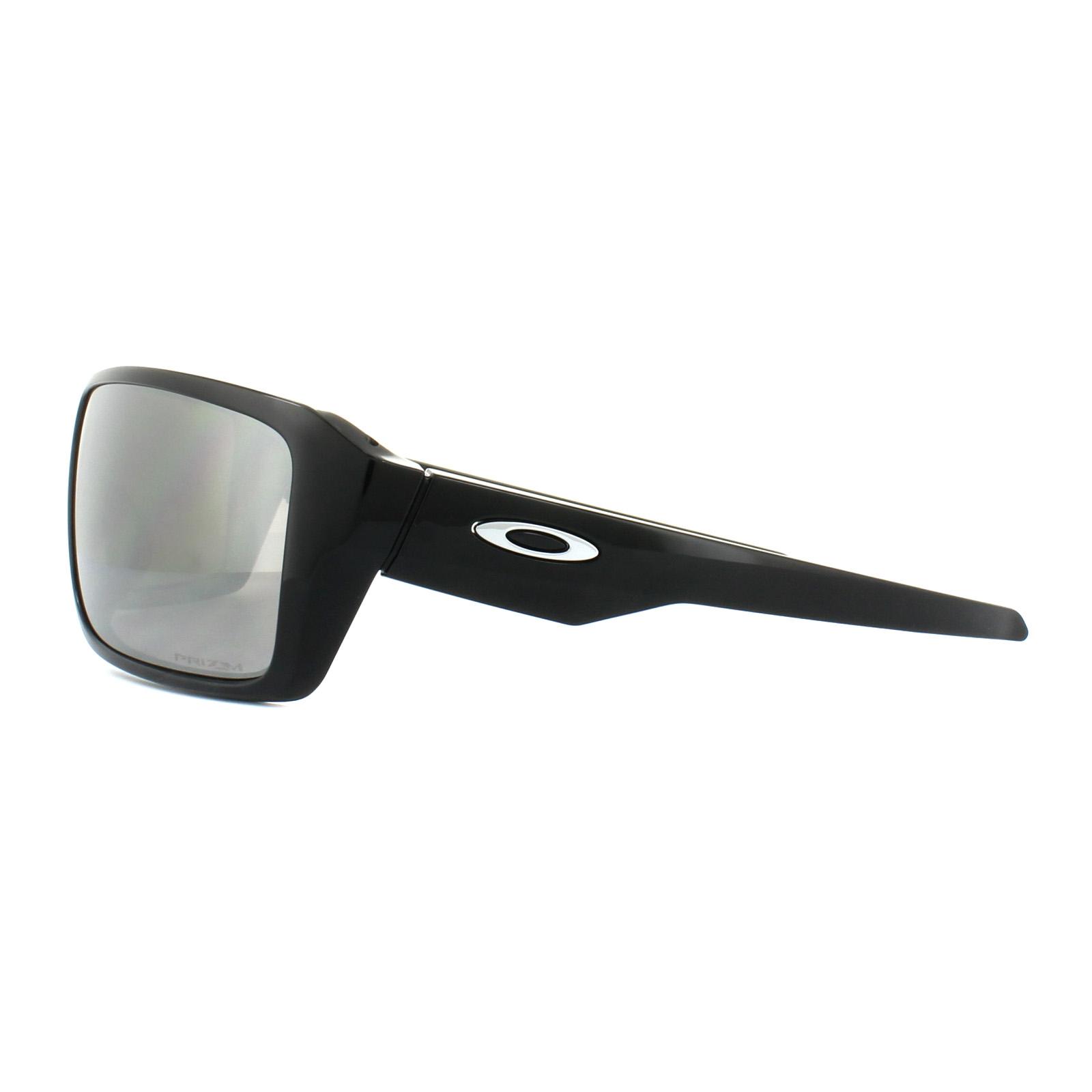 b74229f551 Sentinel Oakley Sunglasses Double Edge OO9380-08 Polished Black Prizm Black  Polarized