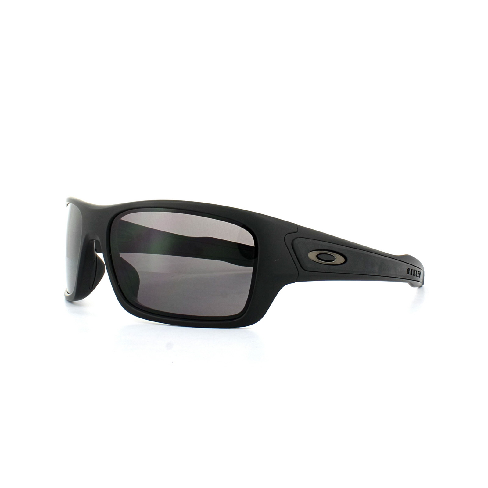 3a86d0b0e4 Sentinel Oakley Sunglasses Turbine XS Youth Fit OJ9003-01 Matt Black Warm  Grey