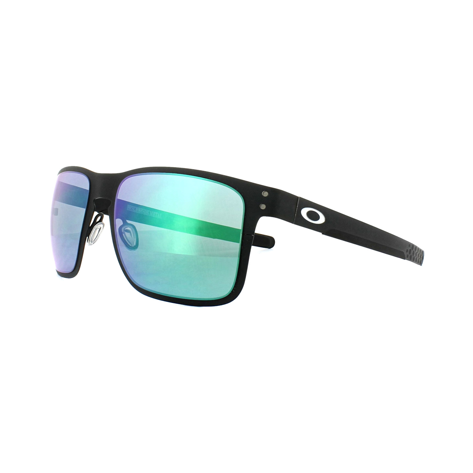 3834ae6c5f6 Details about Oakley Sunglasses Holbrook Metal OO4123-04 Matt Black Jade  Iridium