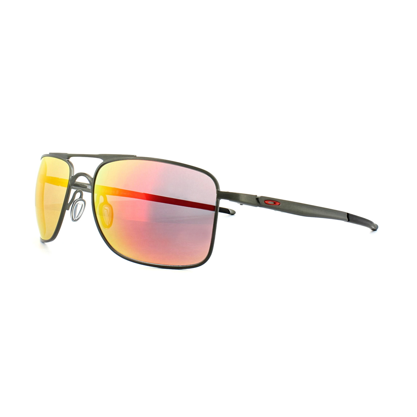 Oakley Gauge 8 >> Oakley Sunglasses Gauge 8 M Oo4124 03 Matt Carbon Ruby Iridium Ebay