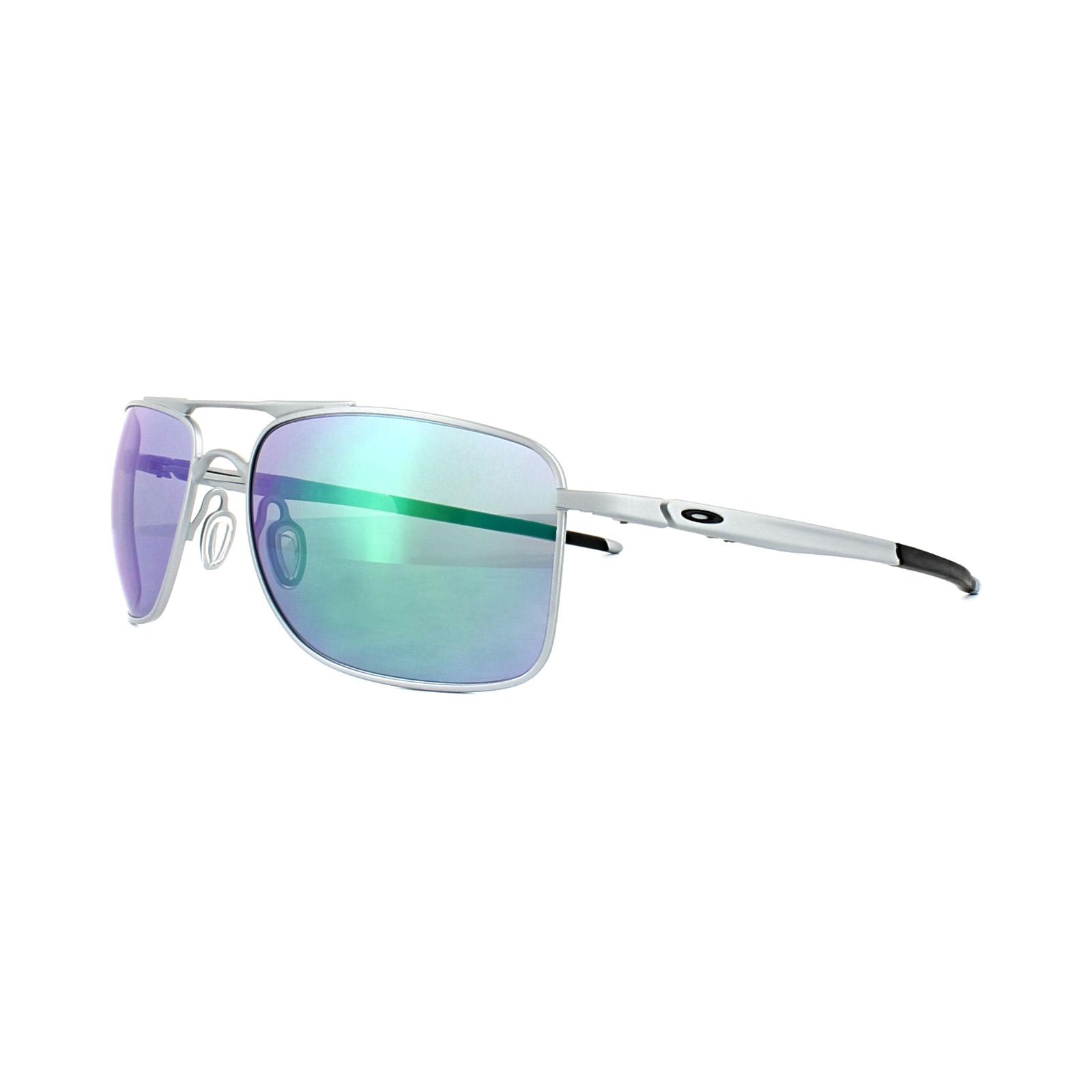 b0c25c82ea8 Sentinel Oakley Sunglasses Gauge 8 M OO4124-04 Matt Lead Jade Iridium