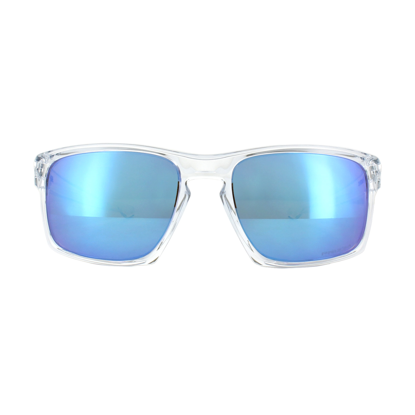 23d459c645 Sentinel Oakley Sunglasses Sliver OO9262-47 Polished Clear Prizm Sapphire