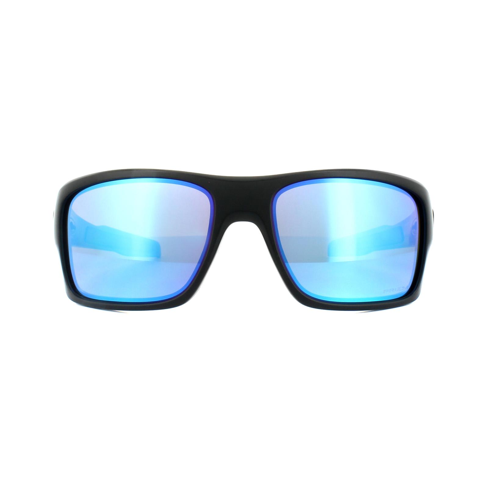 e8265e0b4d Sentinel Oakley Sunglasses Turbine OO9263-36 Sapphire Fade Prizm Sapphire  Polarized