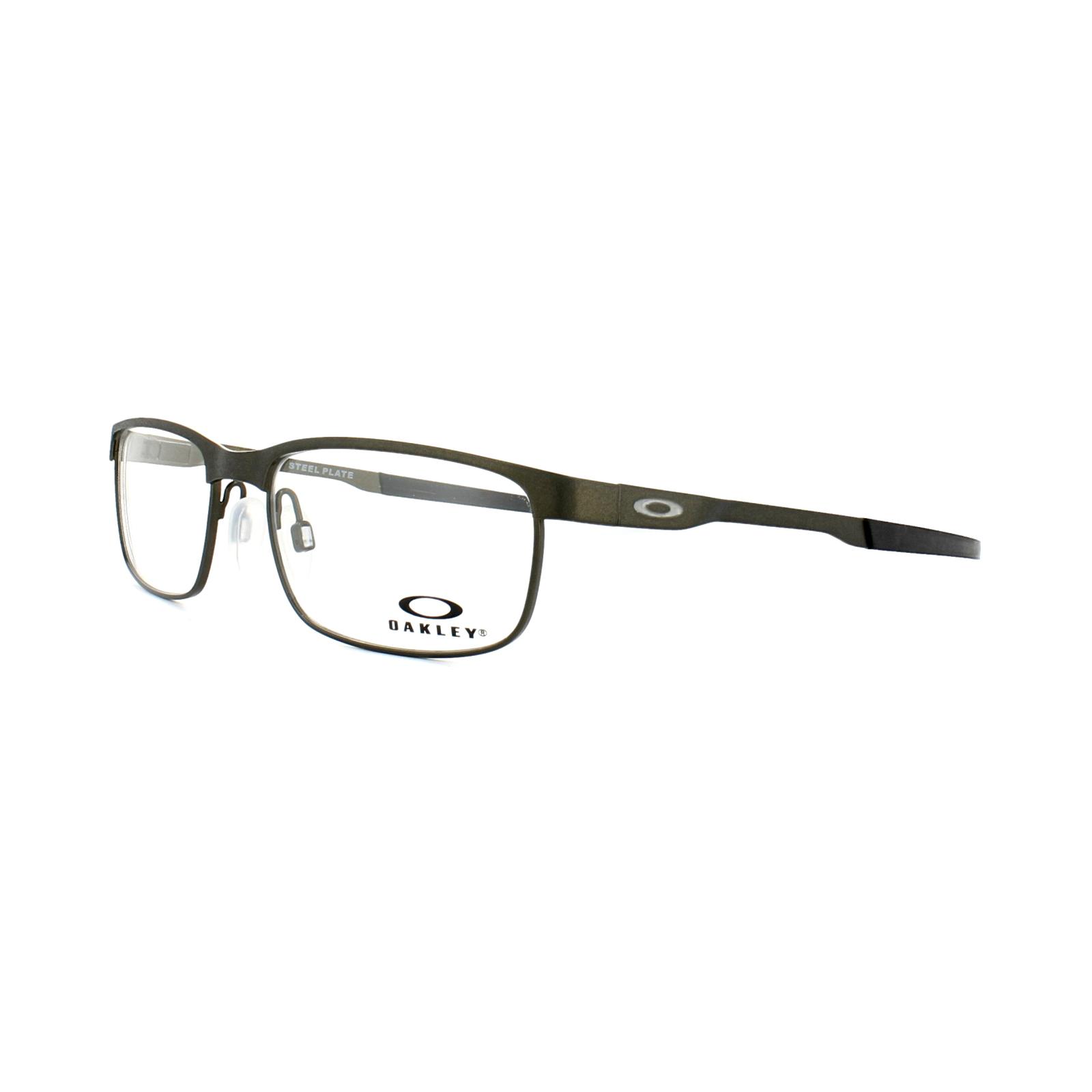 20030e2dfb Sentinel Oakley Glasses Frames Steel Plate OX3222-04 Powder Pewter