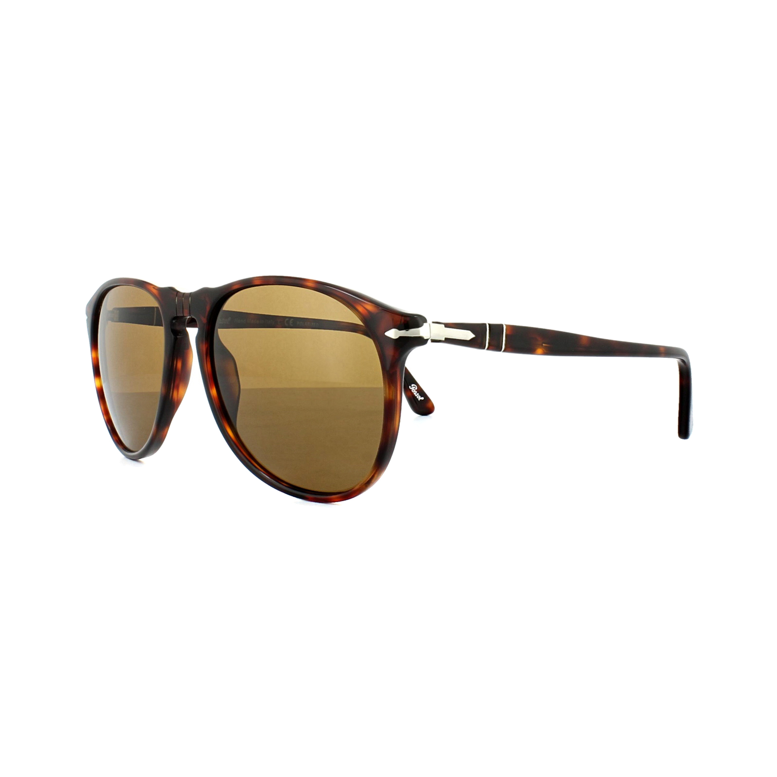e72a06b6a44d1 Sentinel Persol Sunglasses 9649 24 57 Havana Crystal Brown Polarized