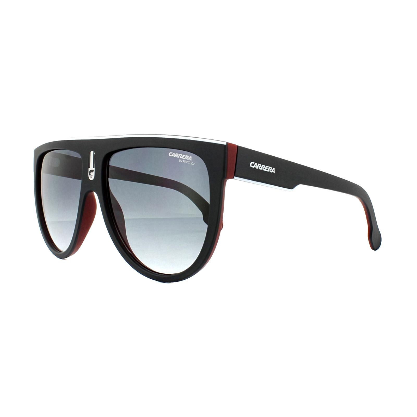 Carrera Eyewear Sonnenbrille » CARRERA FLAGTOP«, schwarz, BLX/9O - schwarz/grau