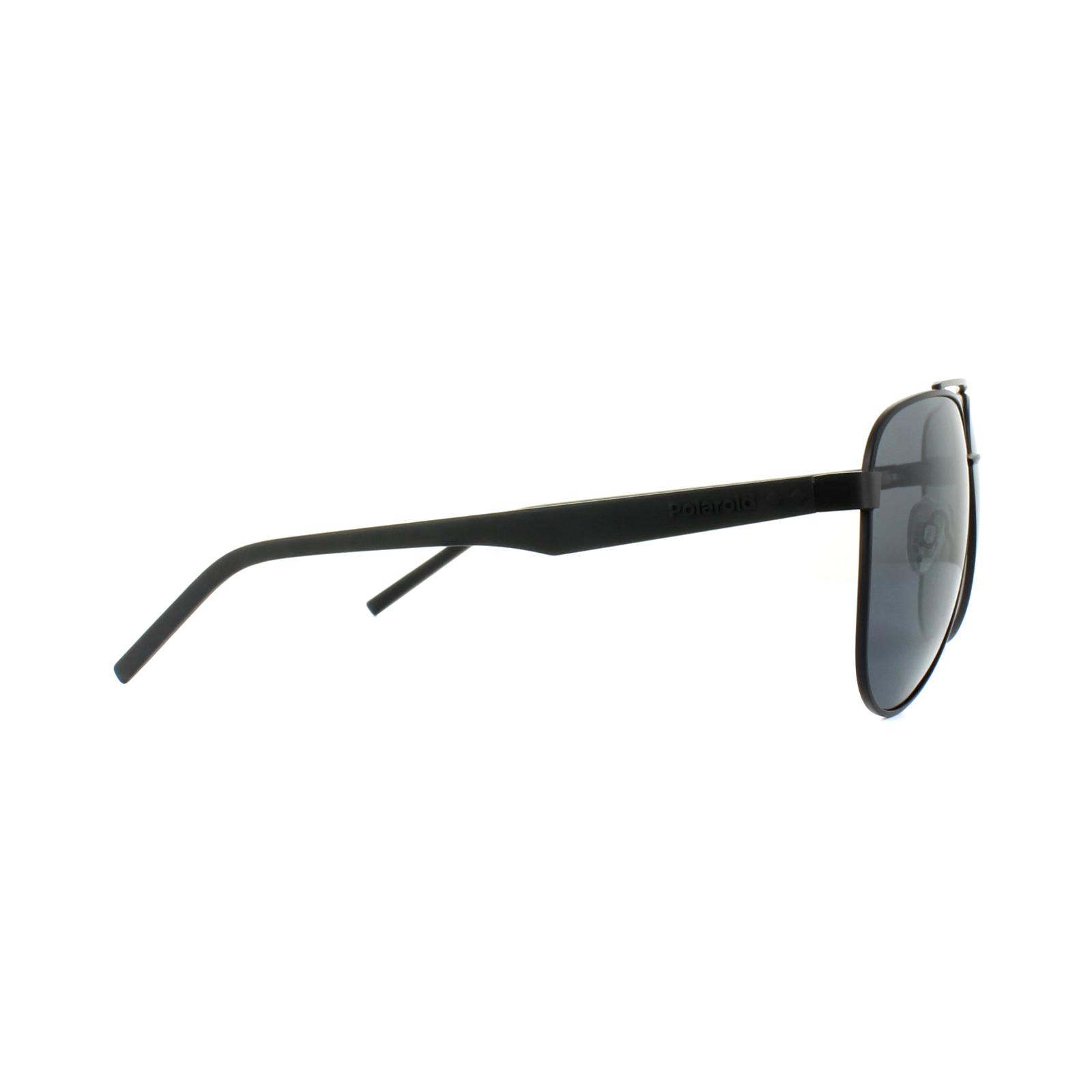 Polaroid Herren Sonnenbrille » PLD 2043/S«, schwarz, 807/M9 - schwarz/grau