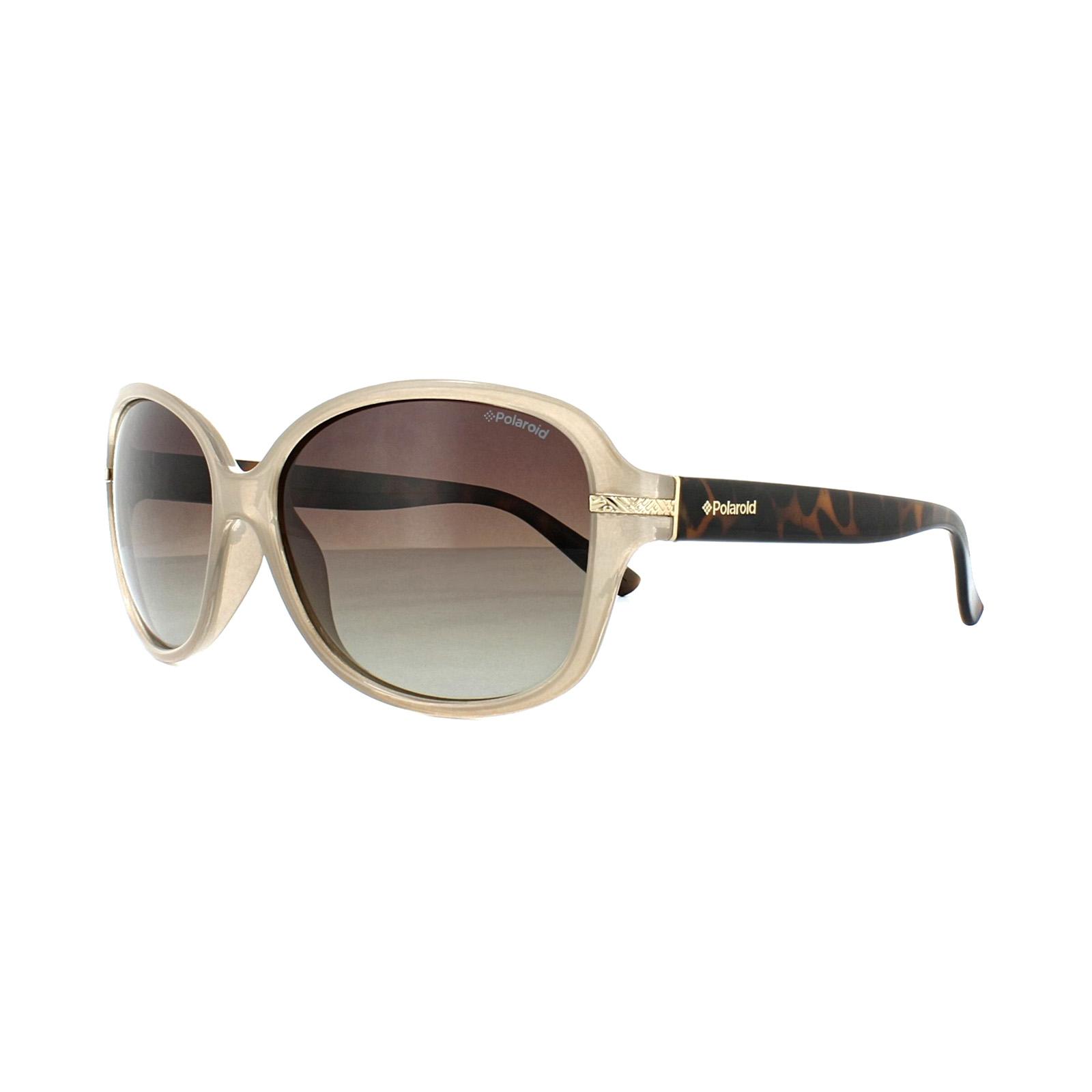 34b70be039 Details about Polaroid Sunglasses P8419 10A LA Beige Havana Brown Gradient  Polarized