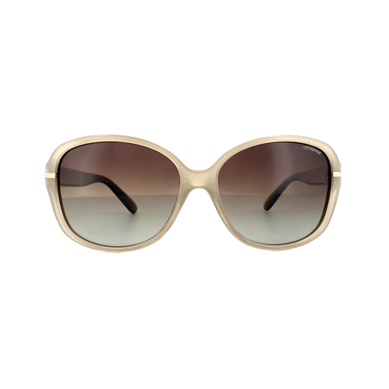 Polaroid Damen Sonnenbrille » P8419«, braun, 10A/LA - braun/braun