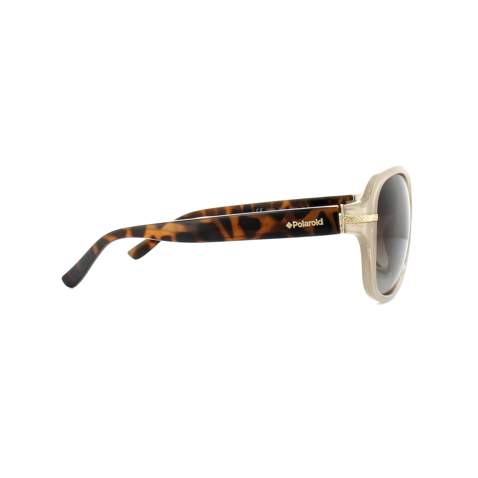 d635898ff9cb9c Sentinel Polaroid Sunglasses P8419 10A LA Beige Havana Brown Gradient  Polarized