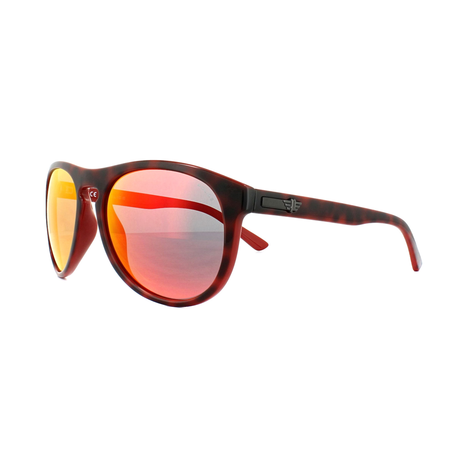 Sentinel Police Sunglasses S1871 Astral 2 6XRR Shiny Havana Red Grey Mirror  Red ec370ceda7