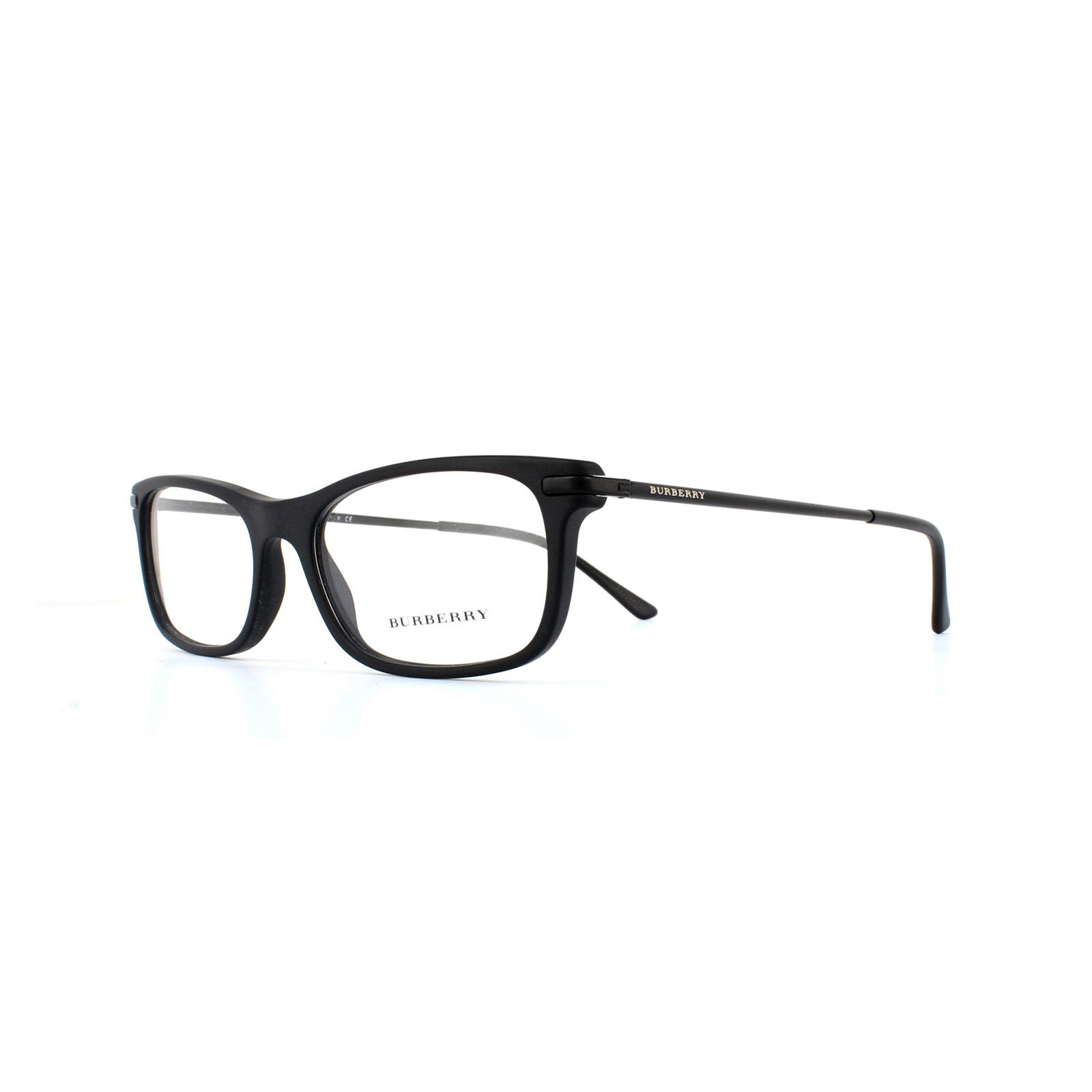 dba45ee5360f Sentinel Burberry Glasses Frames 2195 3464 Matte Black Womens 55mm