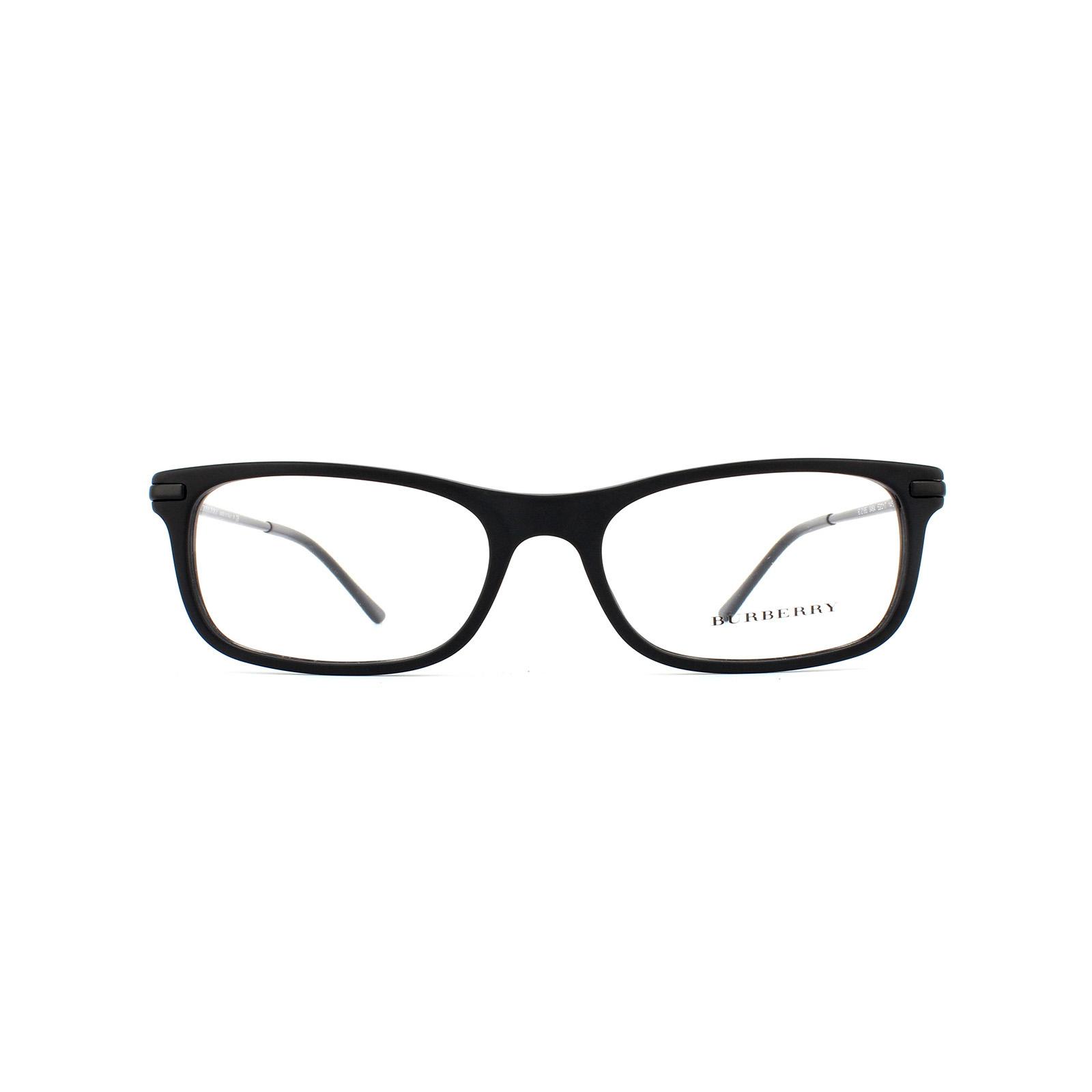 33b87f93e51 Sentinel Burberry Glasses Frames 2195 3464 Matte Black Womens 55mm