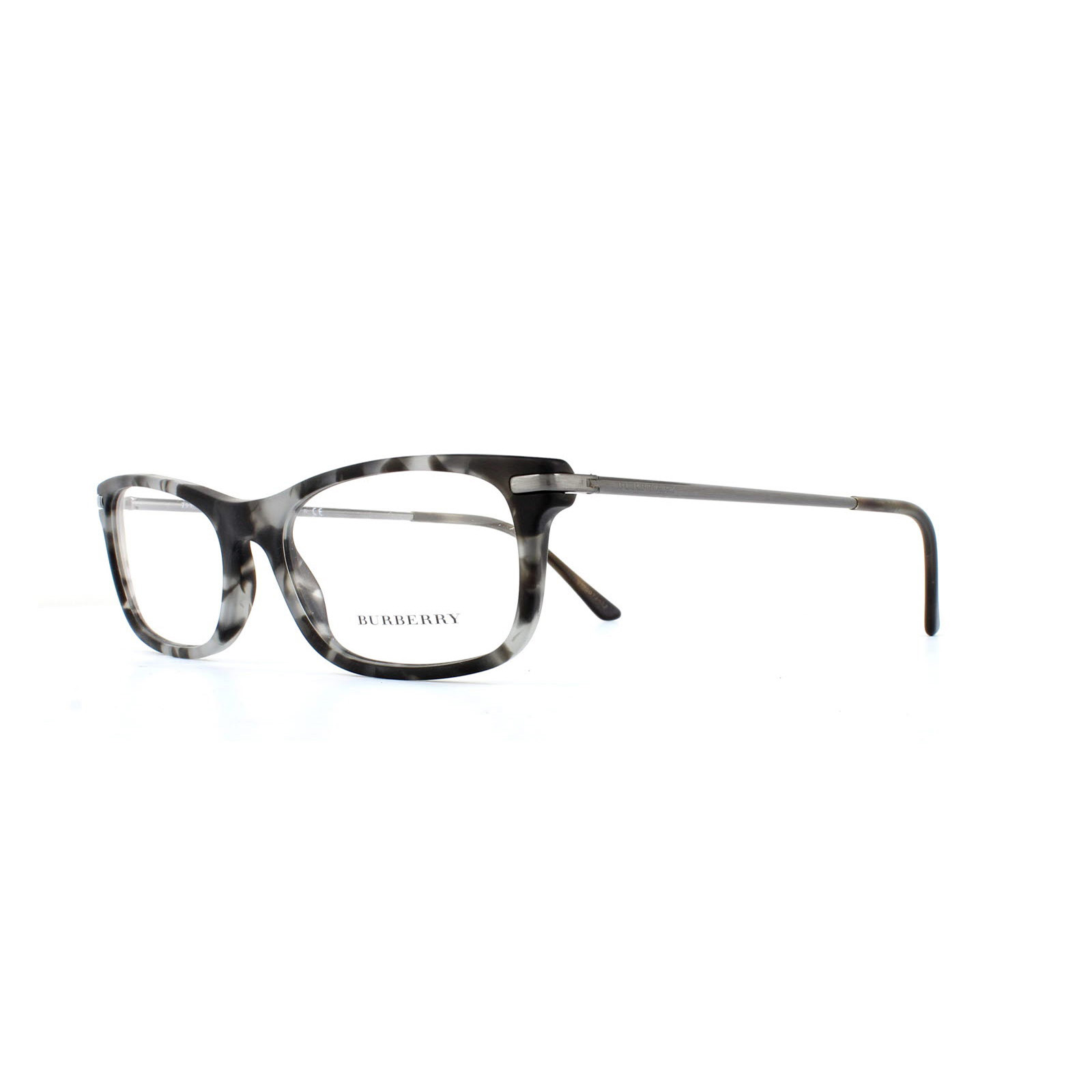 c4e5f842855 Sentinel Burberry Glasses Frames 2195 3534 Matte Grey Havana Womens 53mm