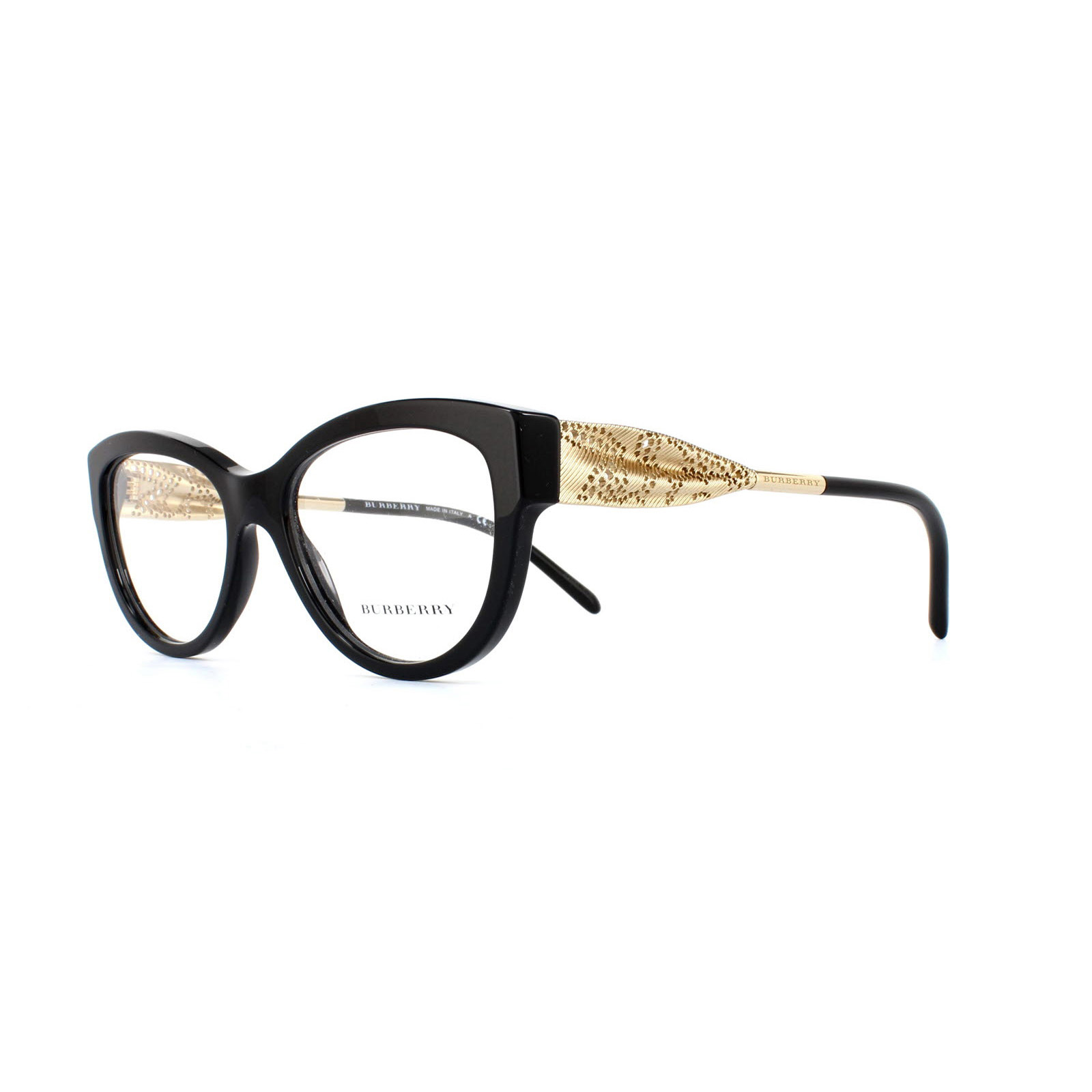 86da62c5c2 Sentinel Burberry Glasses Frames 2210 3001 Black Womens 53mm