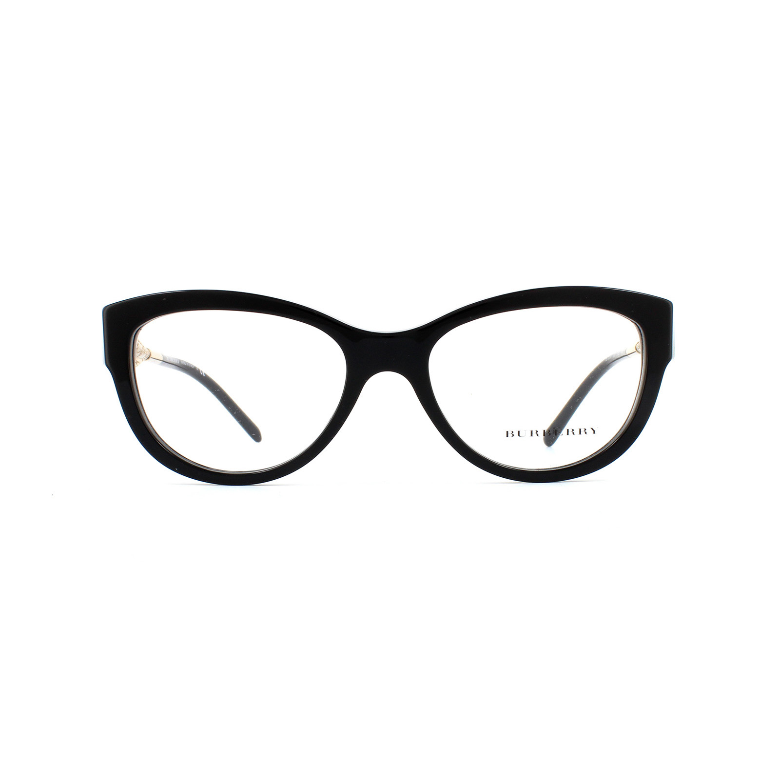 6120d5ca6c87 Sentinel Burberry Glasses Frames 2210 3001 Black Womens 53mm