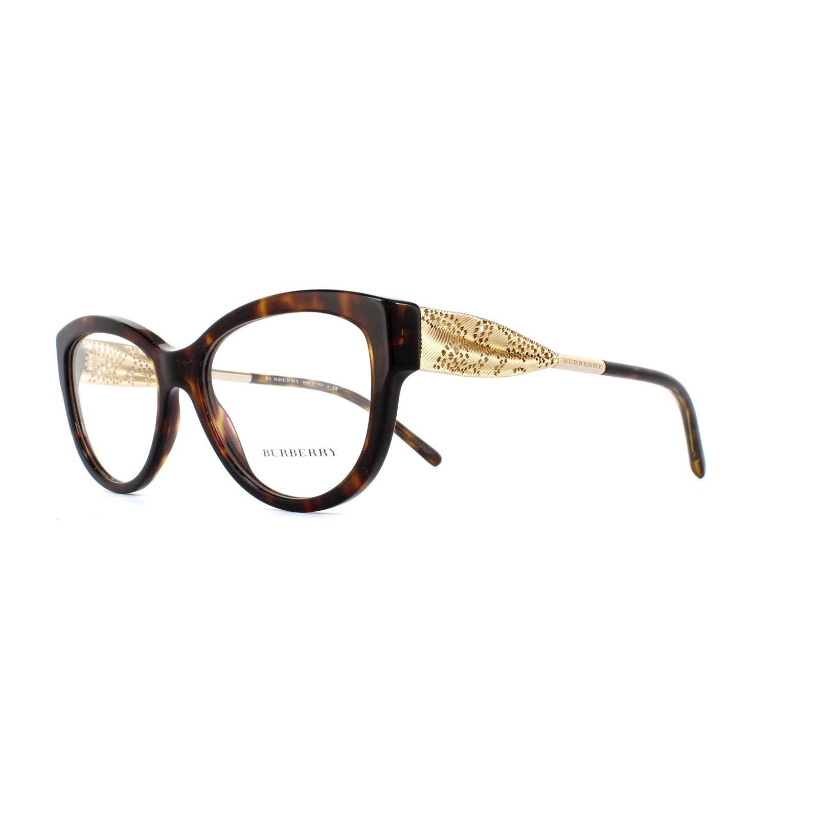 e7d8906ac0a Sentinel Burberry Glasses Frames 2210 3002 Dark Havana Womens 51mm