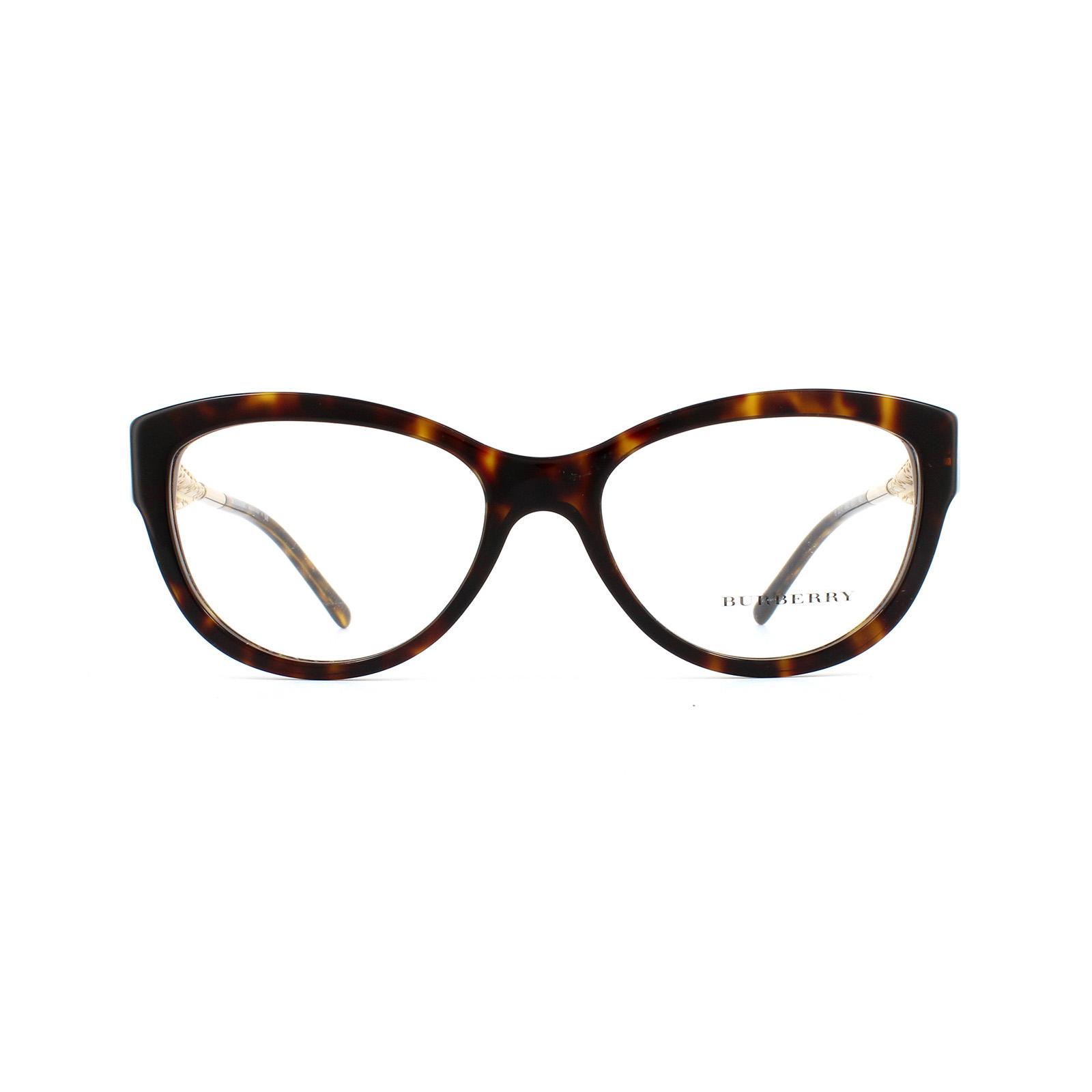 0b6bb47d82f Sentinel Burberry Glasses Frames 2210 3002 Dark Havana Womens 51mm
