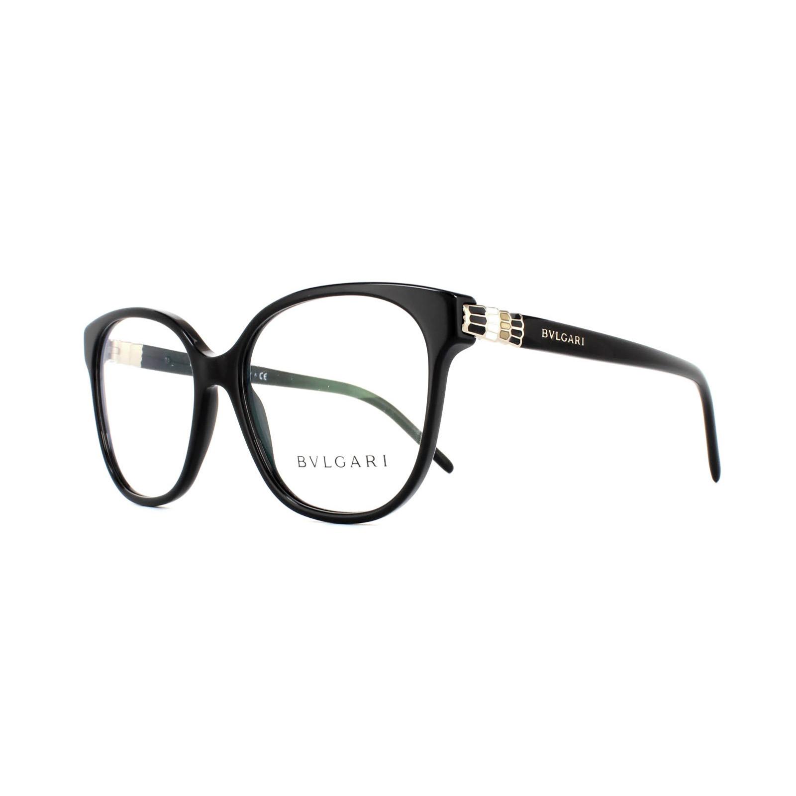 Exelent Bvlgari Glasses Frames With Crystal Flowers Pattern - Framed ...