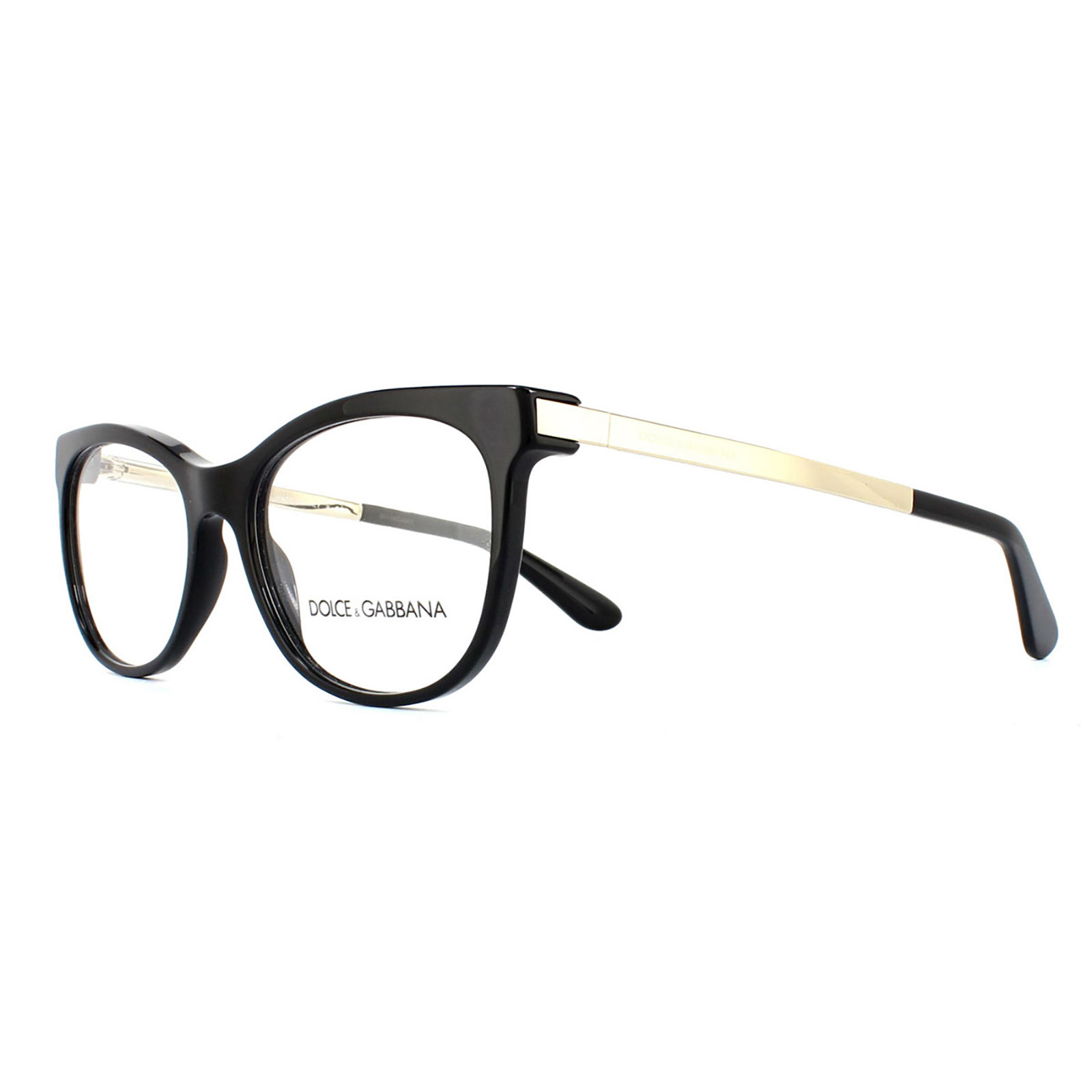 sentinel dolce and gabbana glasses frames 3234 501 black womens 52mm - Dolce And Gabbana Glasses Frames