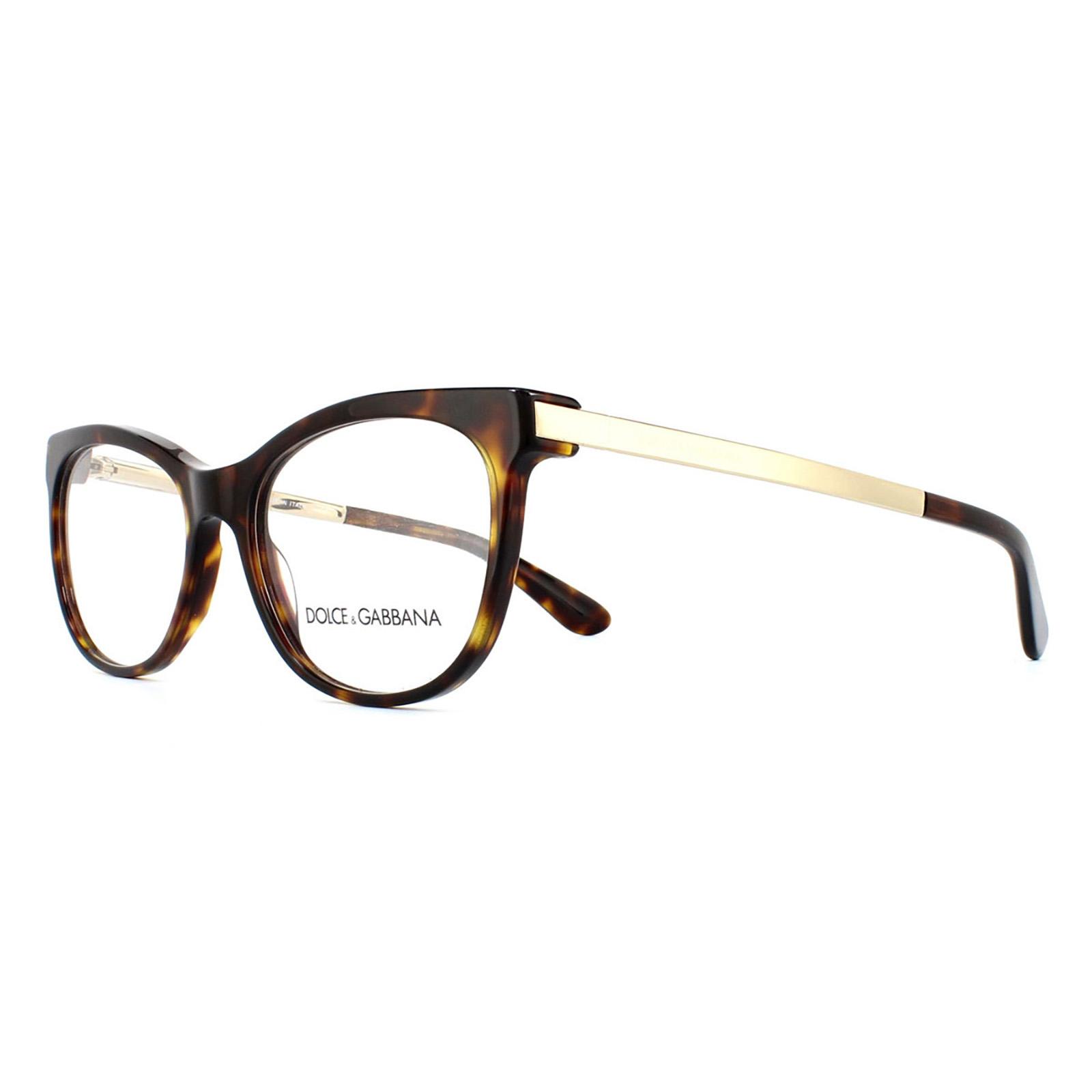 88b65937e43 Sentinel Dolce and Gabbana Glasses Frames 3234 502 Dark Havana Womens 54mm