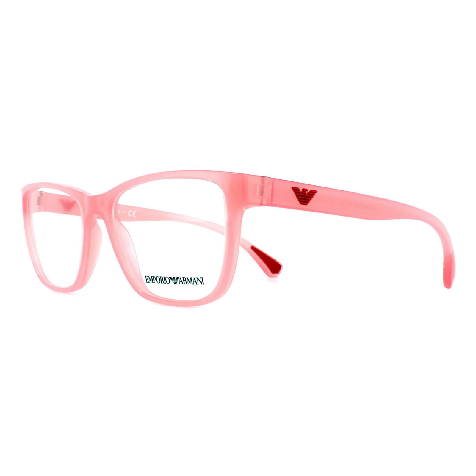 704de2b12fe ... Details about Emporio Armani Glasses Frames 3090 5507 Opal Coral Womens  52mm Sentinel ...