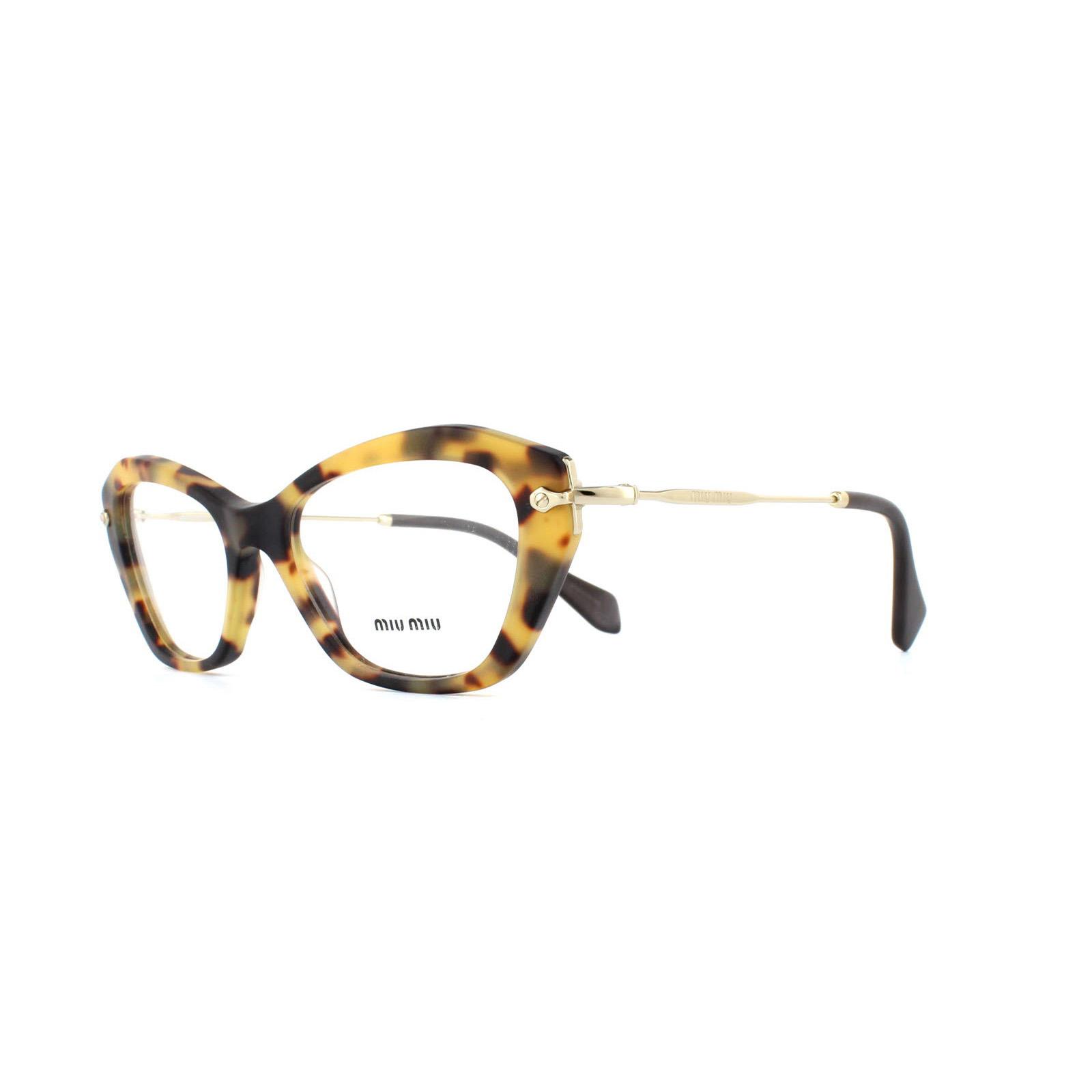 sentinel miu miu glasses frames 04lv han1o1 sand light havana womens 52mm - Miu Miu Glasses Frames