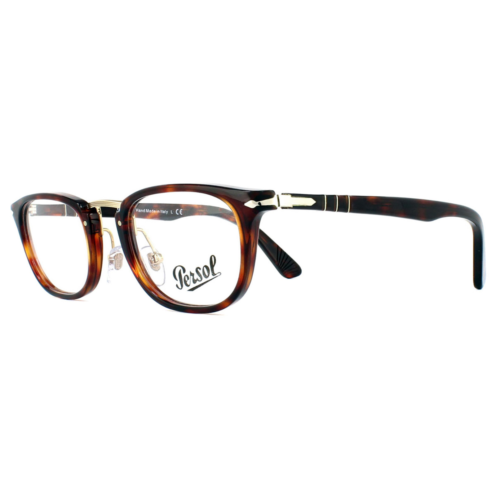 7a850c38fda Sentinel Persol Glasses Frames 3126V 24 Havana Men 48mm