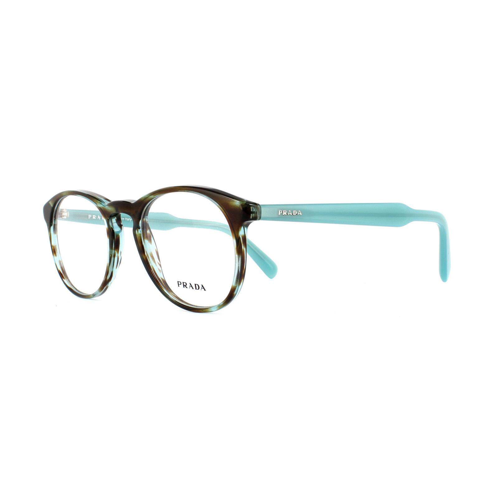Prada Glasses Frames 19SV UEN1O1 Havana Blue Azure Mens Womens 48mm ...