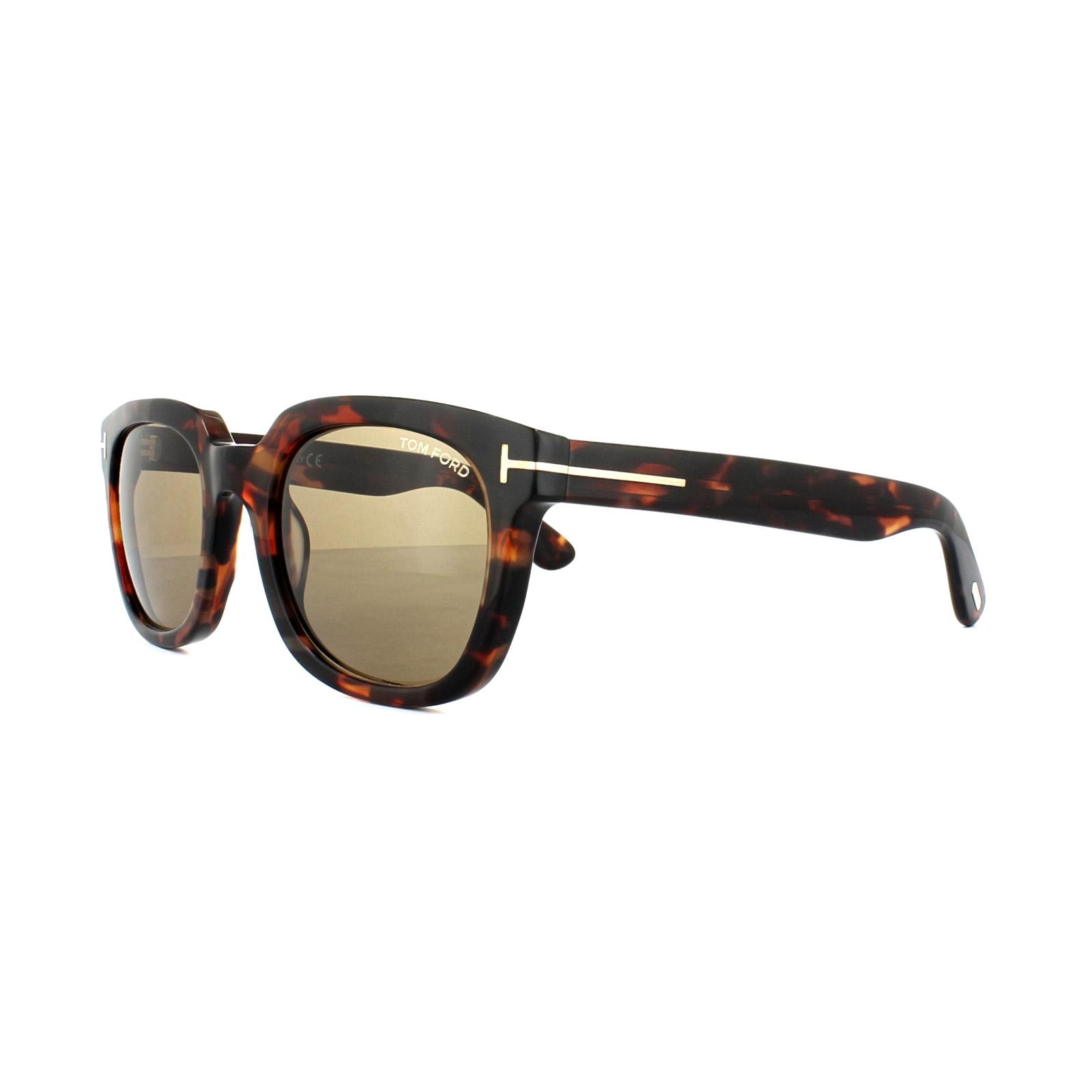 49567669bc53 Sentinel Tom Ford Sunglasses 0198 Campbell 56J Havana Brown Dark Brown
