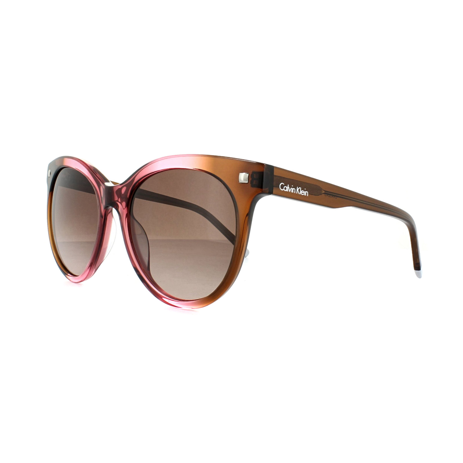 e5ae6ecc452 Sentinel Calvin Klein Sunglasses CK4324 248 Brown Rose Brown Gradient