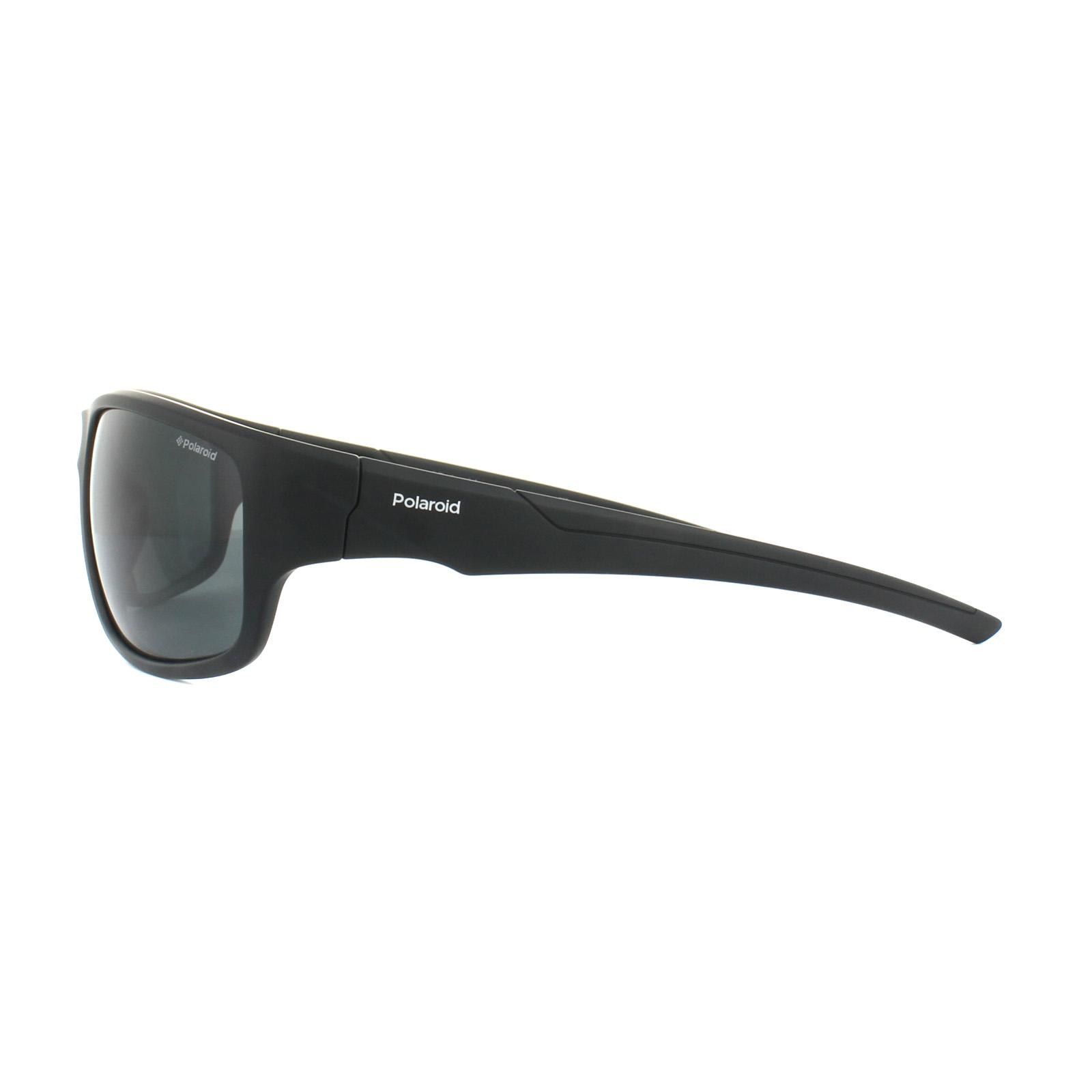 Polaroid Herren Sonnenbrille » PLD 7010/S«, schwarz, 807/M9 - schwarz/grau