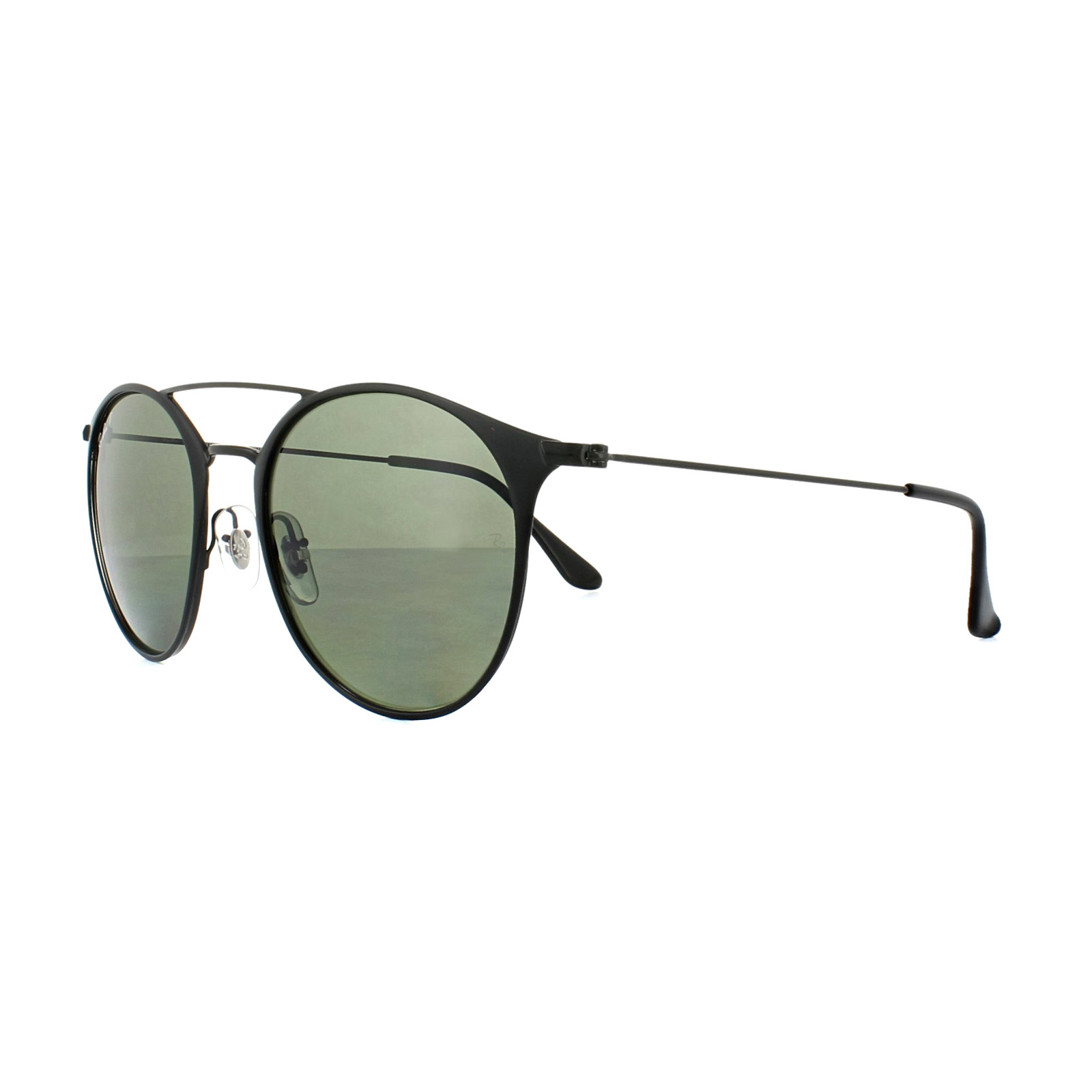 a14060b22d Ray-Ban Sunglasses 3546 186 9A Black Green Polarized 8053672672428 ...